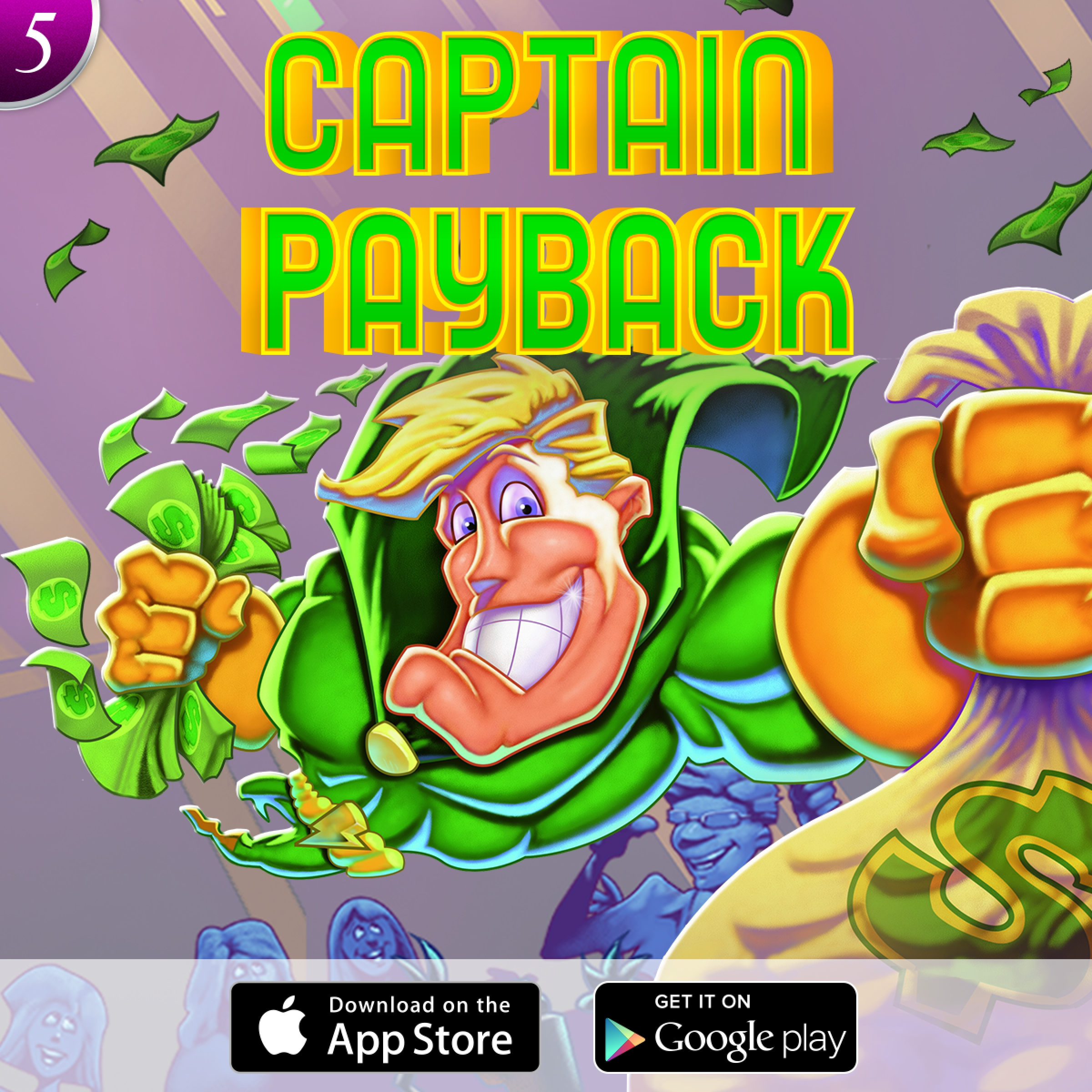 The Captain Payback Online Slot Demo Game by High 5 Games