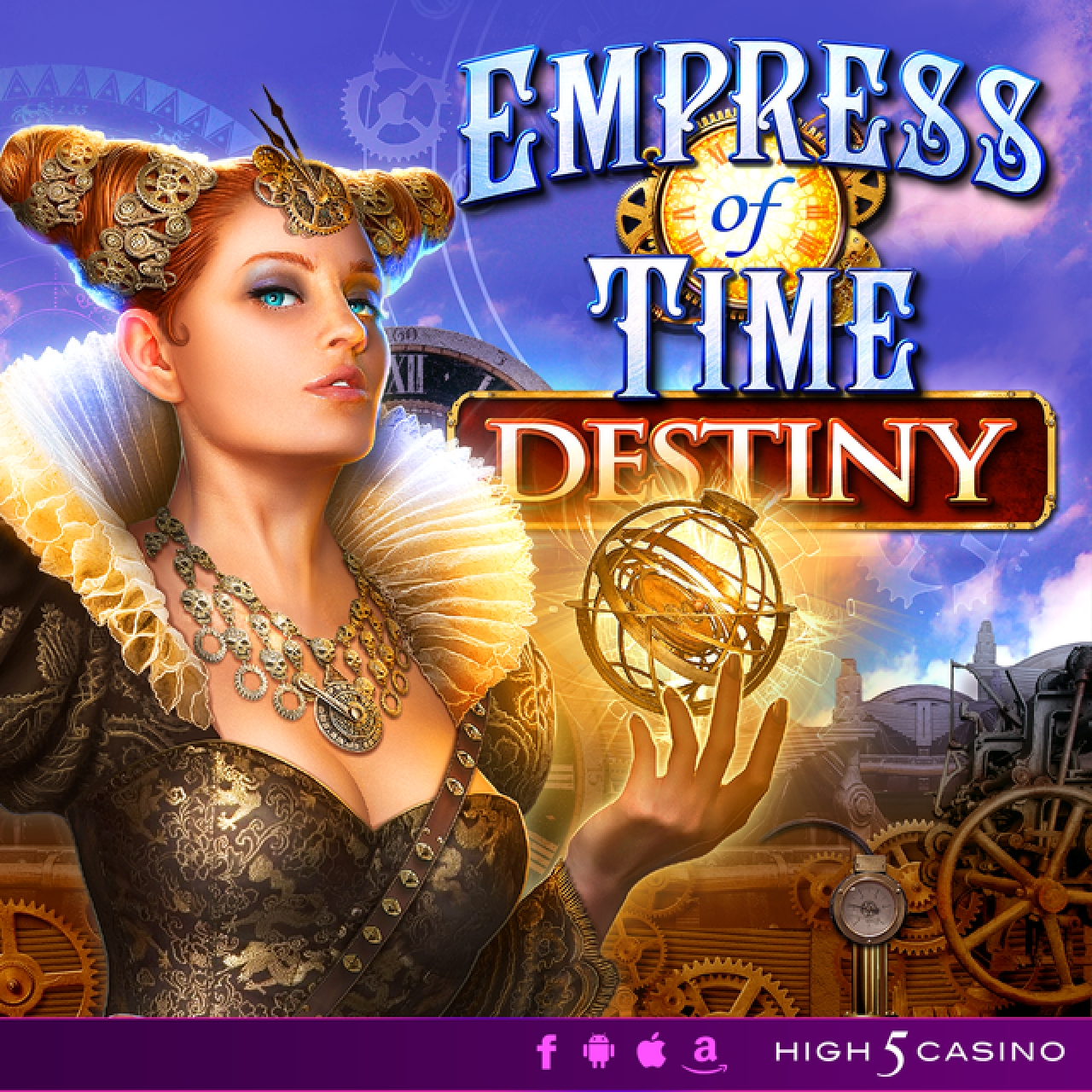 The Empress of Time: Destiny Online Slot Demo Game by High 5 Games