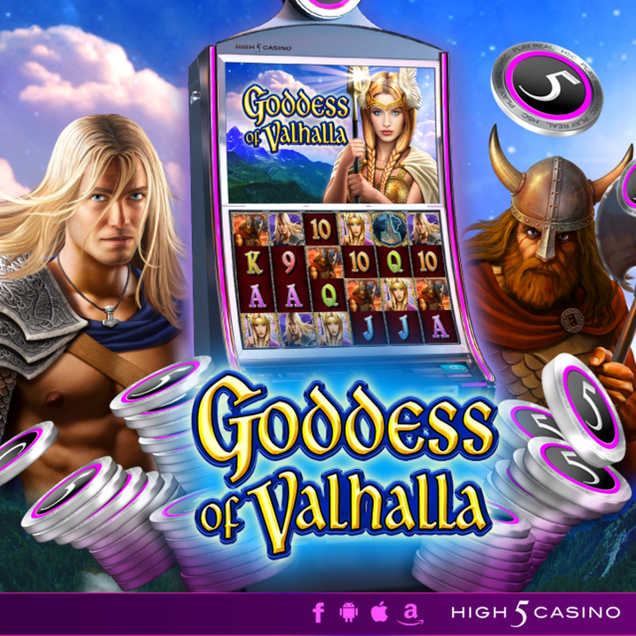 The Goddess of Valhalla Online Slot Demo Game by High 5 Games