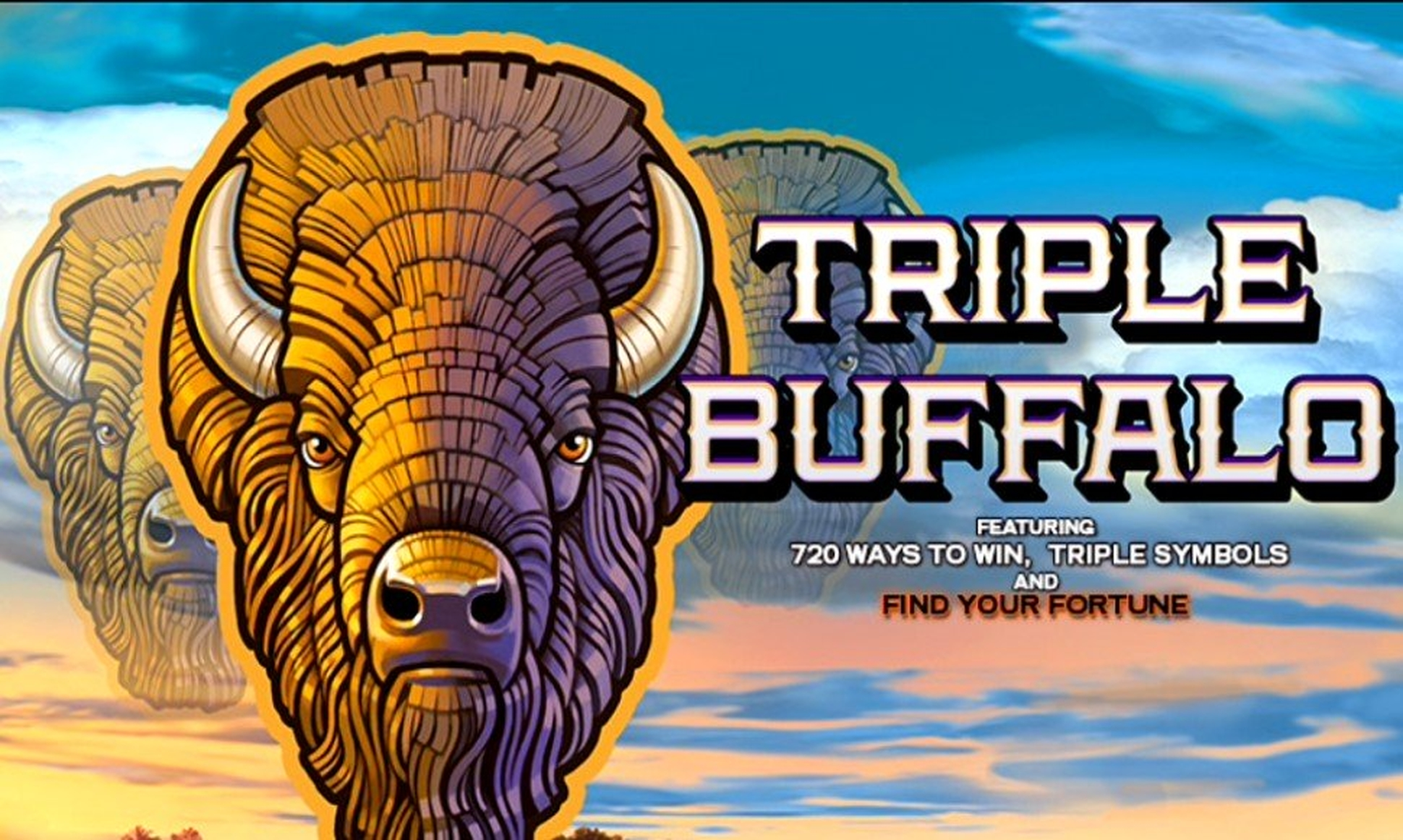 The Triple Buffalo Online Slot Demo Game by High 5 Games