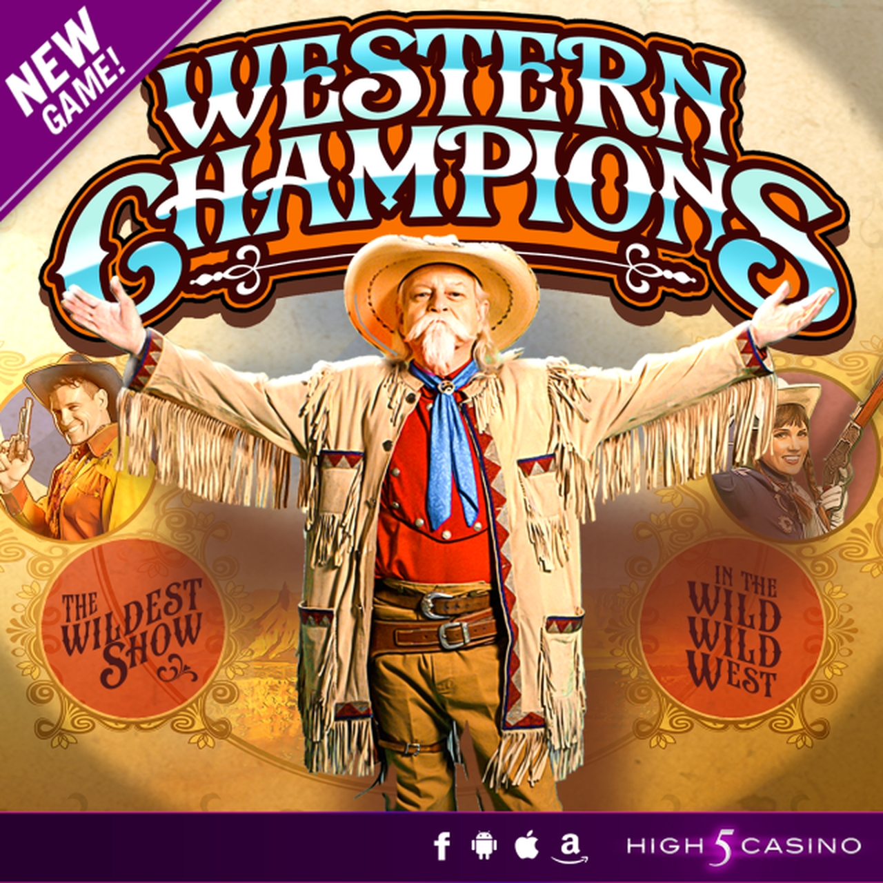 The Western Champions Online Slot Demo Game by High 5 Games