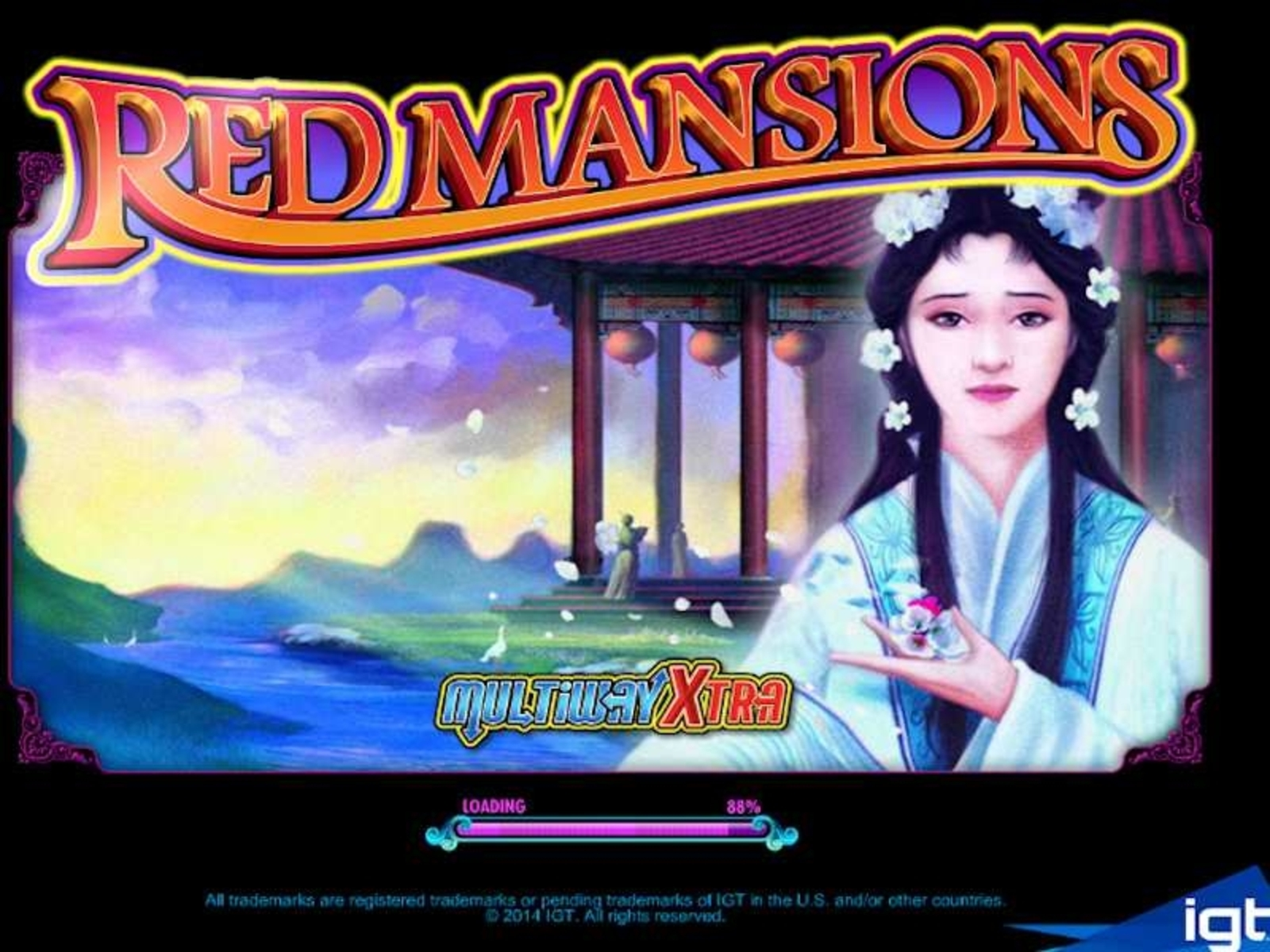 The Red Mansions Online Slot Demo Game by IGT