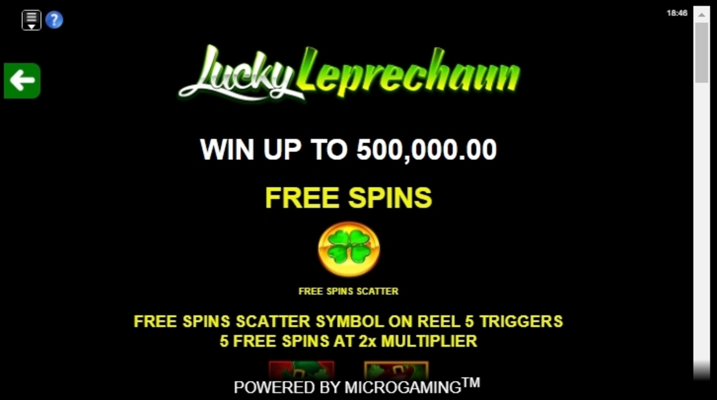 Info of Lucky Leprechaun (iSoftBet) Slot Game by iSoftBet