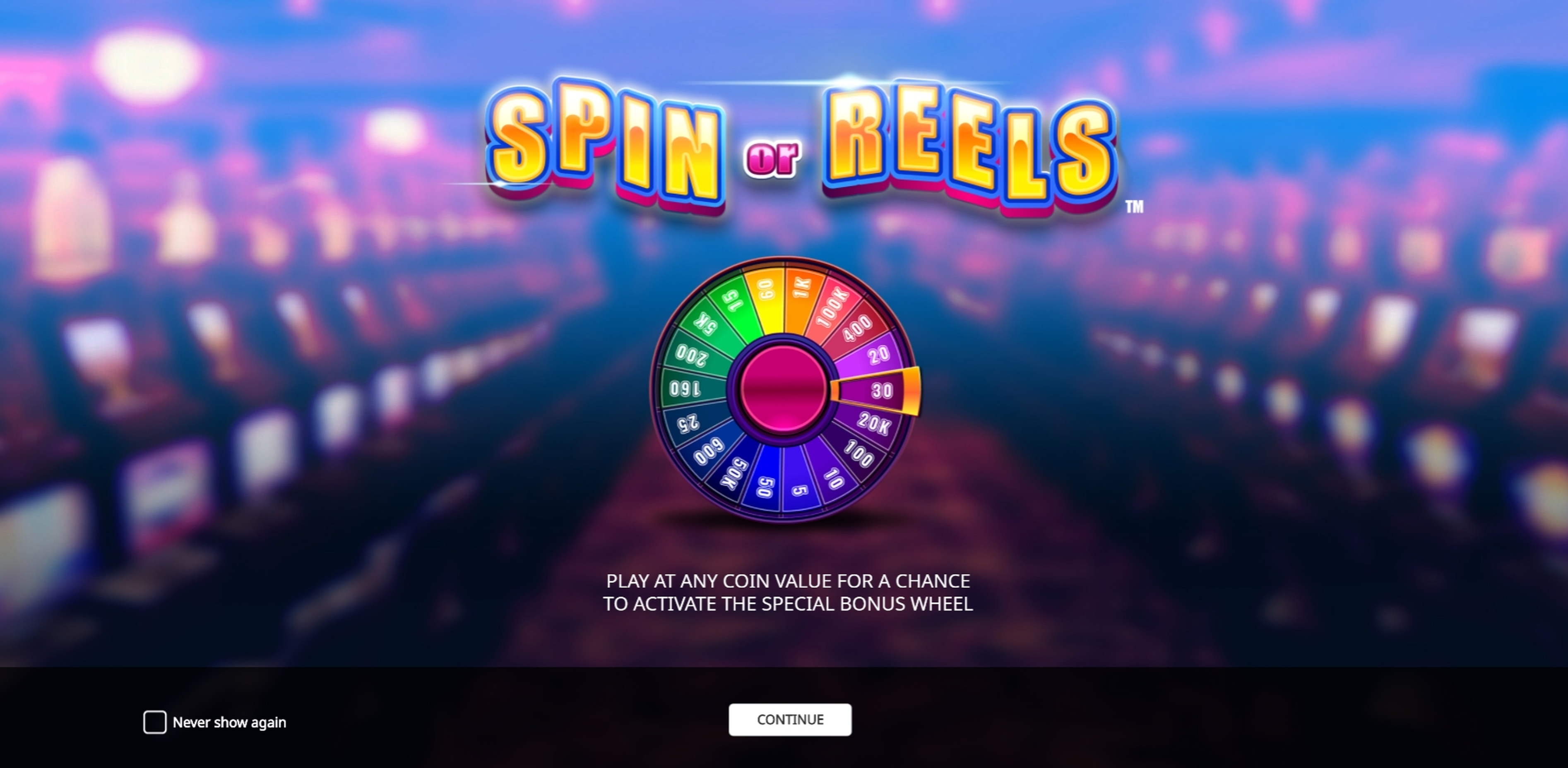 Play Spin or Reels Free Casino Slot Game by iSoftBet