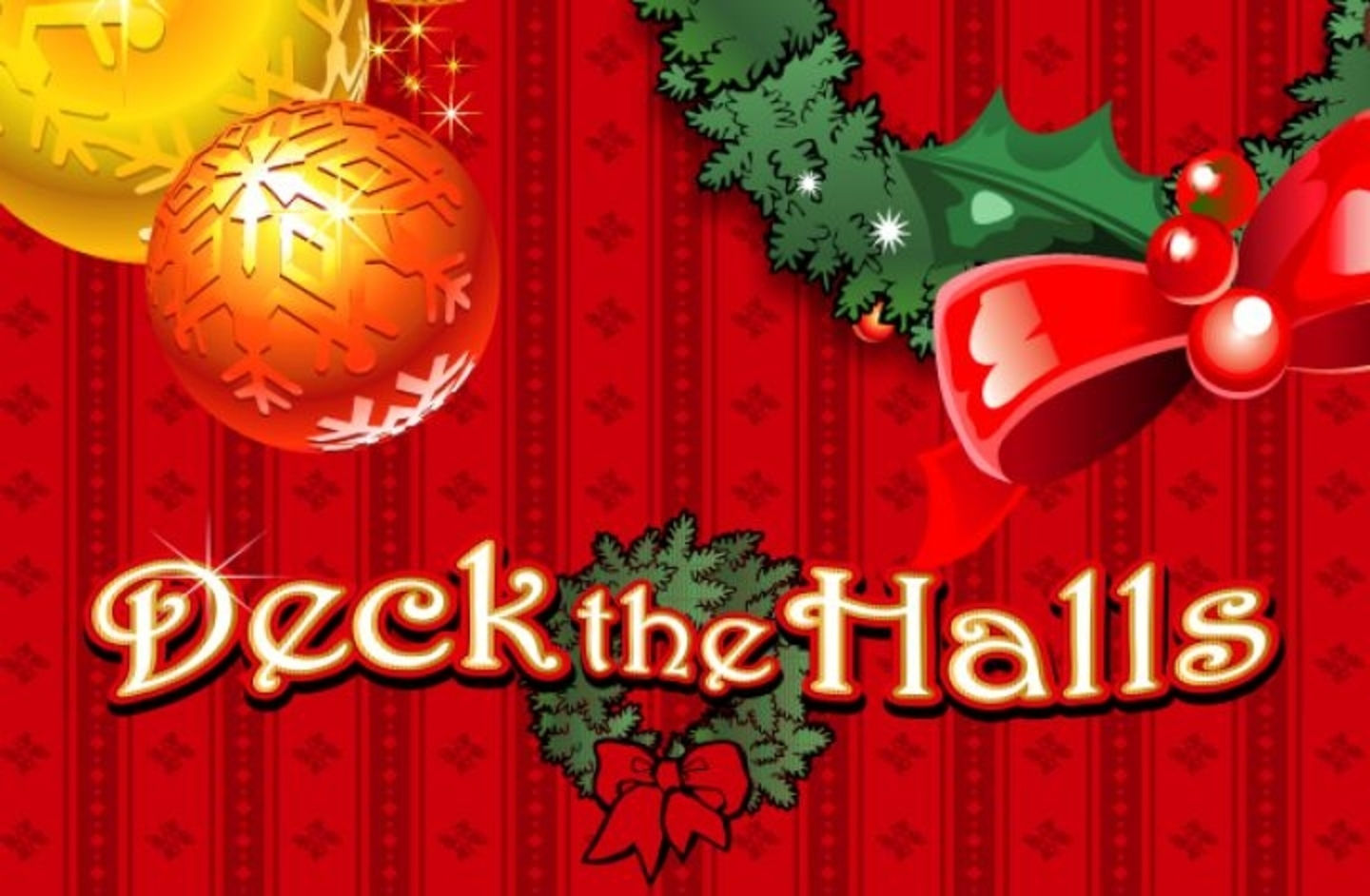 The Deck the Halls Online Slot Demo Game by Microgaming