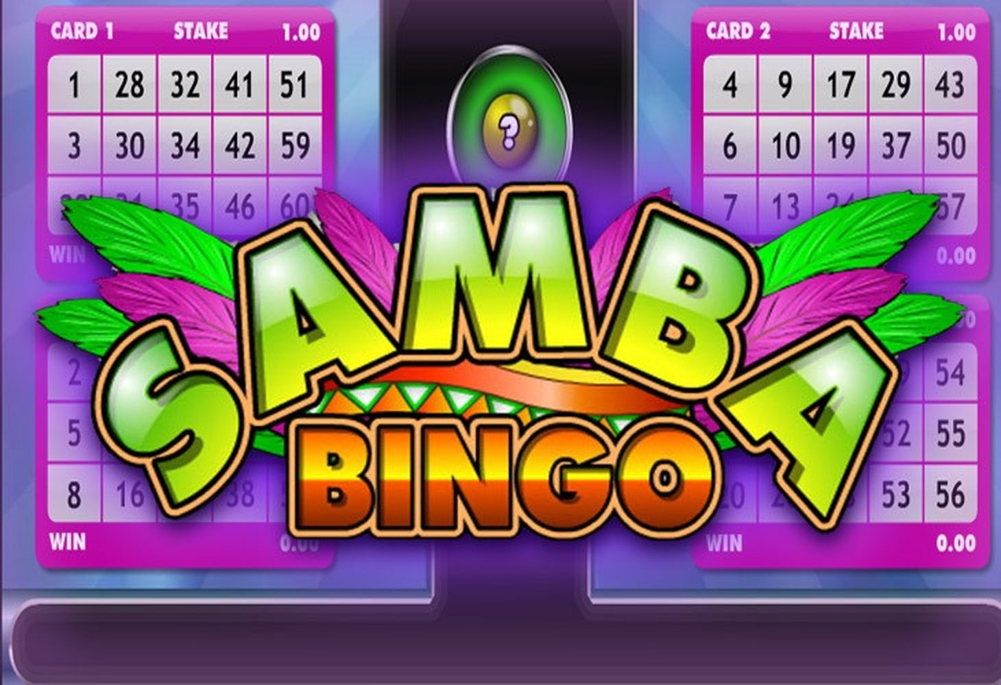 The Samba Bingo Online Slot Demo Game by Microgaming