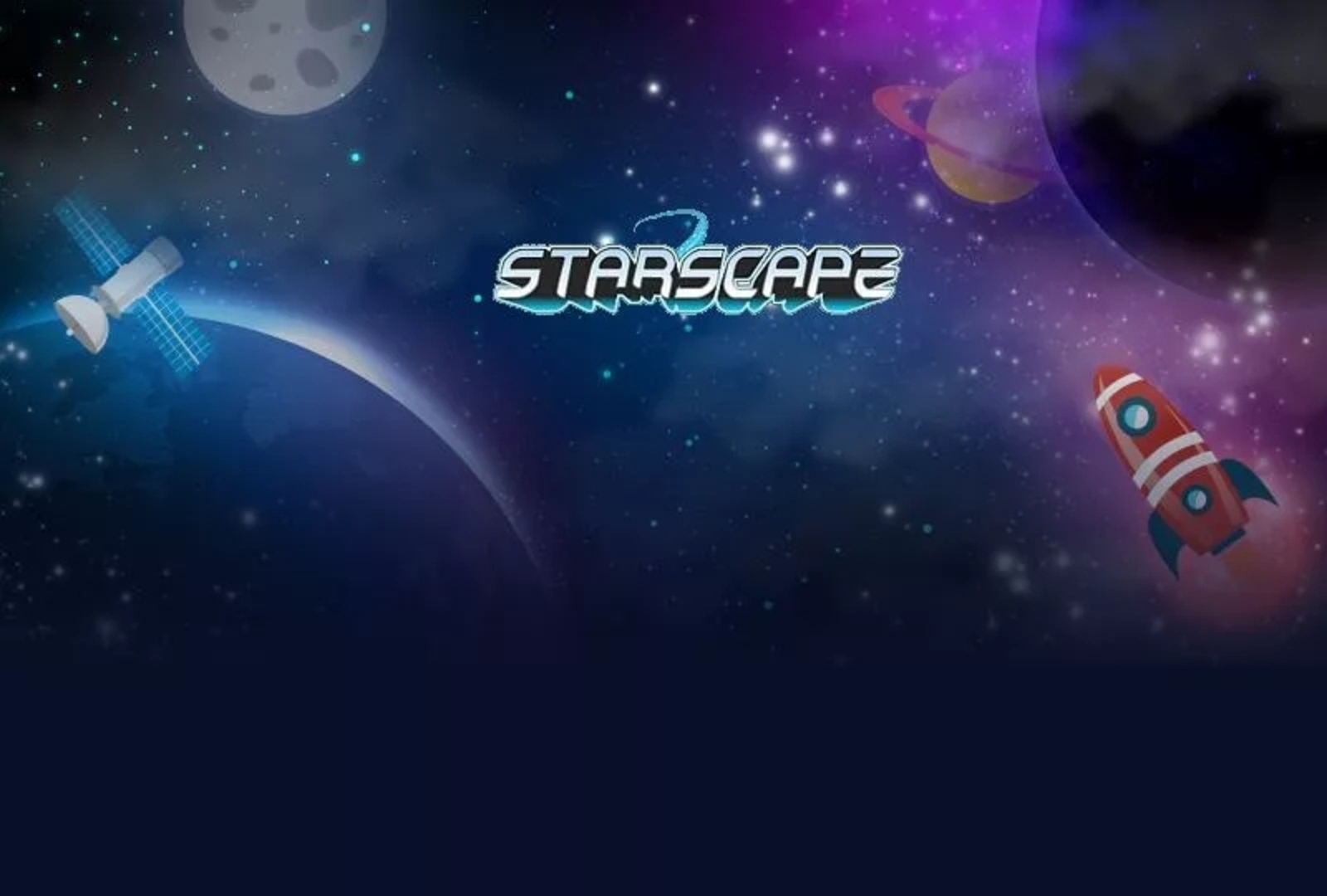 The Starscape Online Slot Demo Game by Microgaming