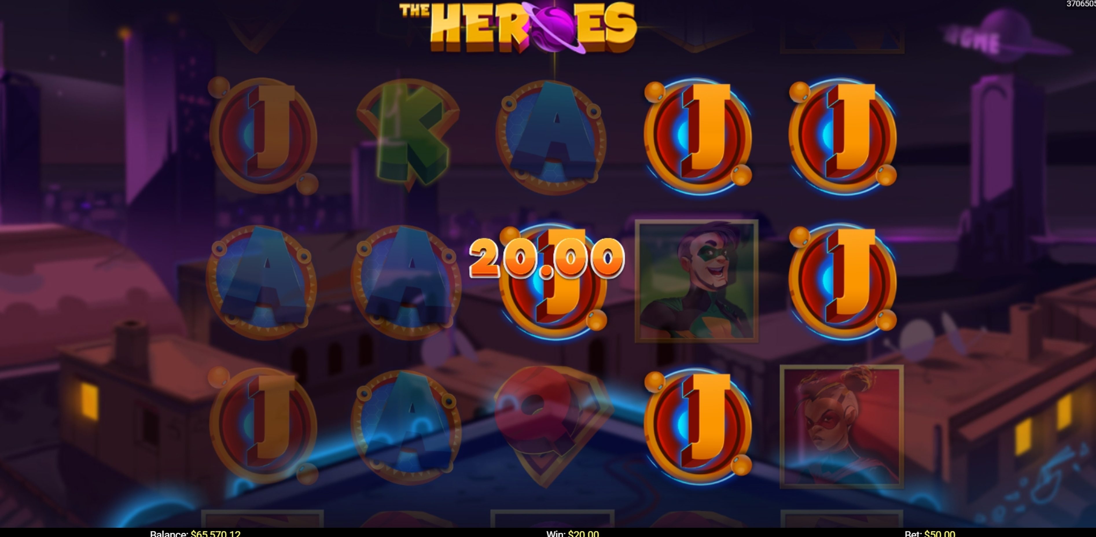 Win Money in The Heroes Free Slot Game by Mobilots
