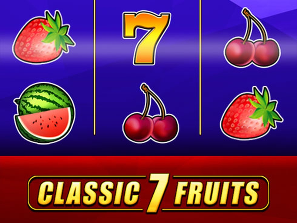 The Classic 7 Fruits Online Slot Demo Game by MrSlotty