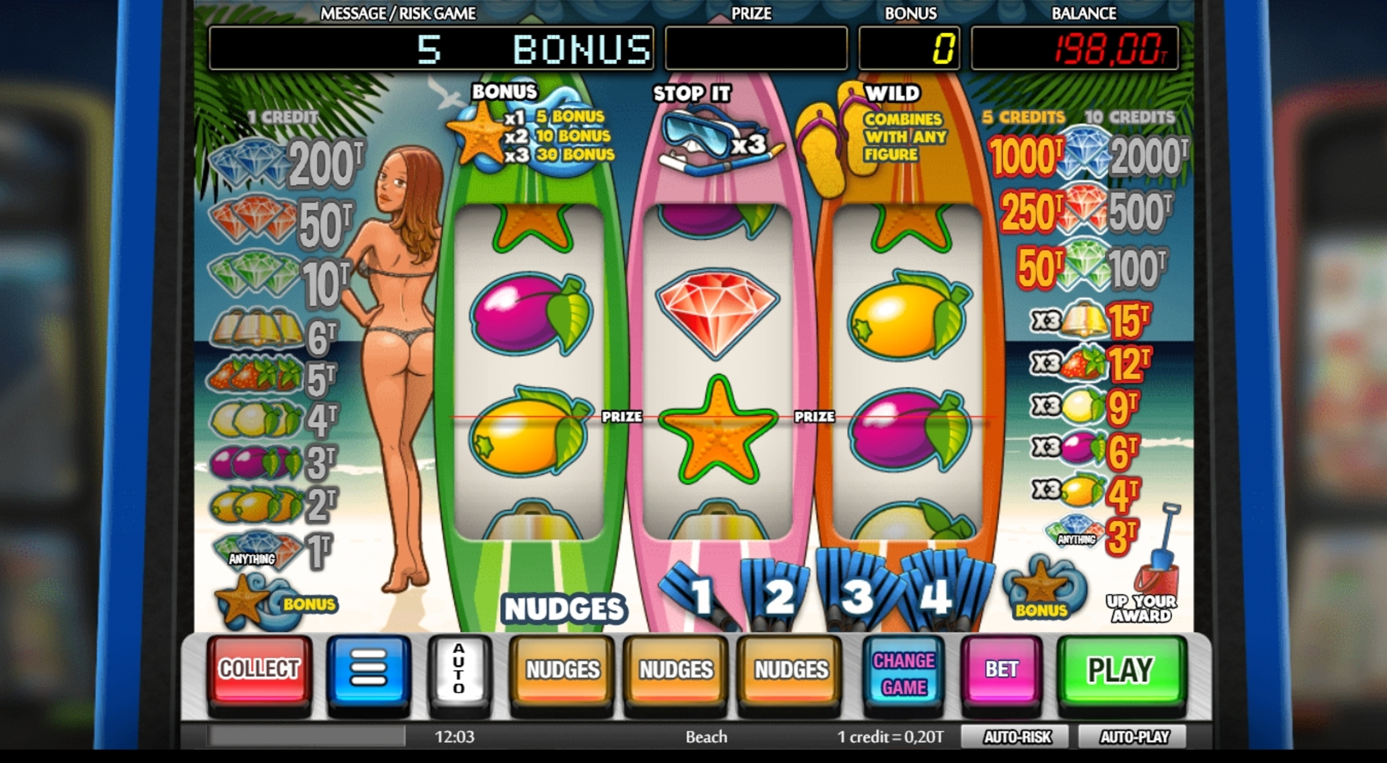 Win Money in Beach Free Slot Game by NetEnt