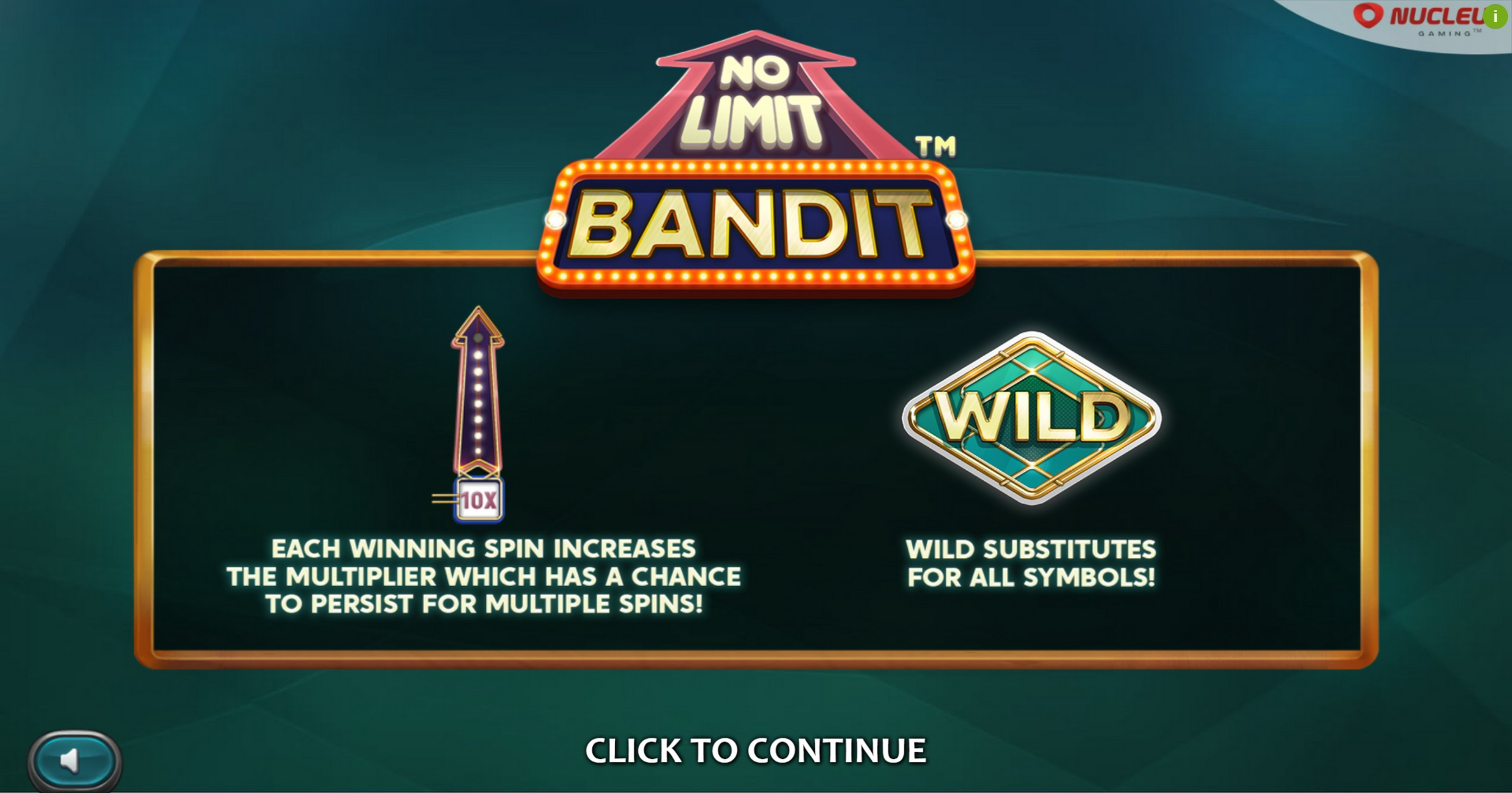 Play No Limit Bandit Free Casino Slot Game by Nucleus Gaming