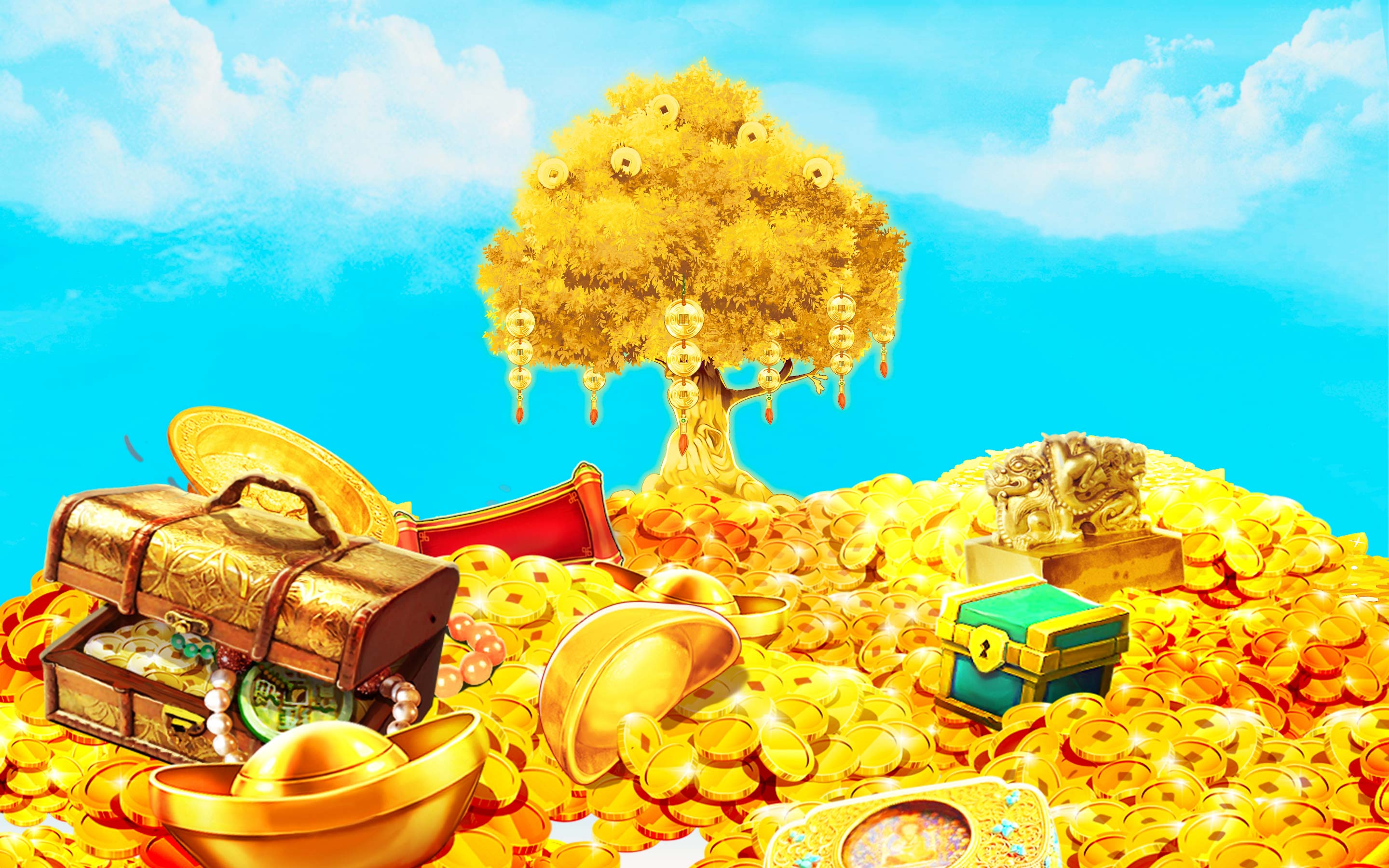 The Golden Tree Online Slot Demo Game by Octavian Gaming