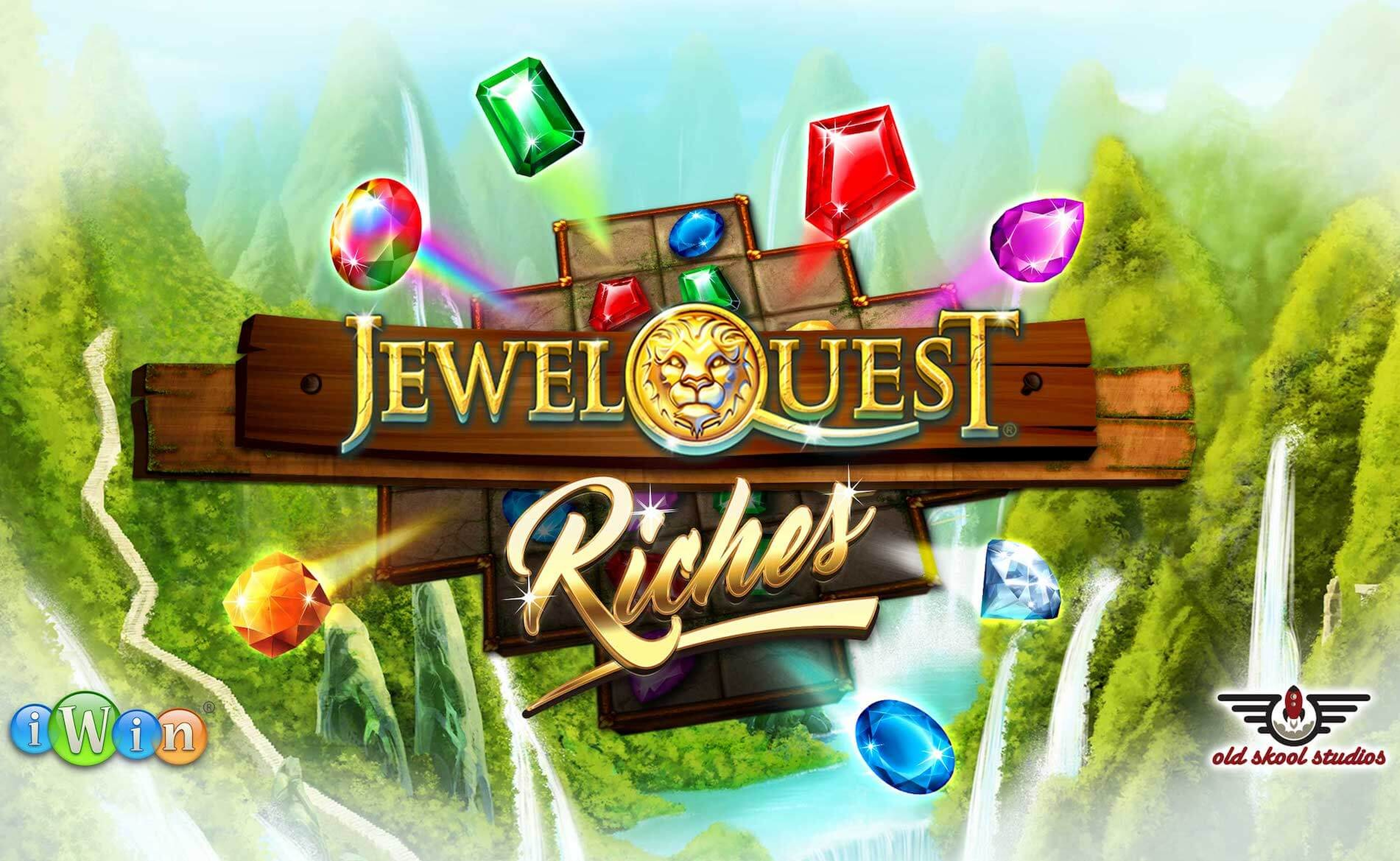 The Jewel Quest Riches Online Slot Demo Game by Old Skool Studios