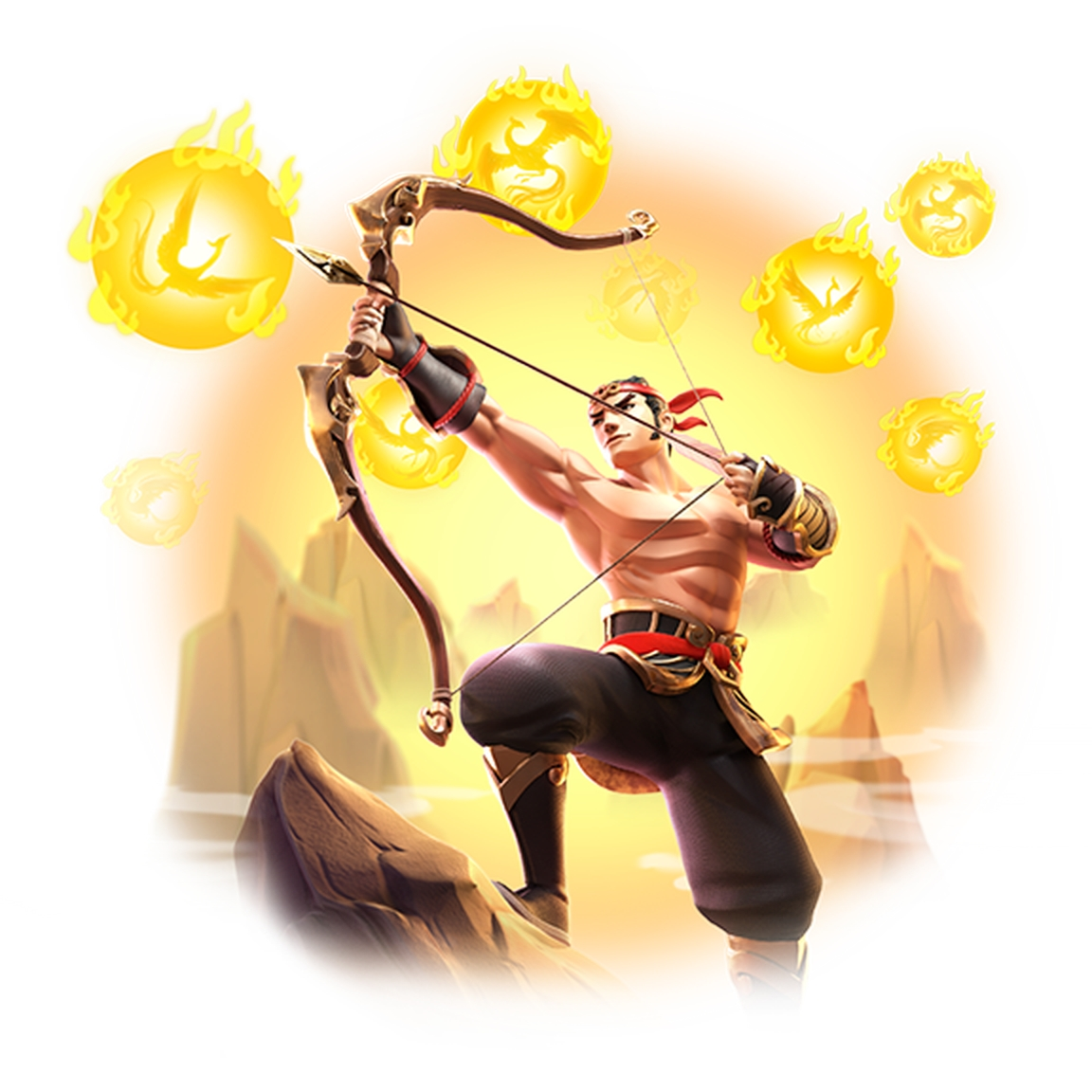 The Legend of Hou Yi Online Slot Demo Game by PG Soft
