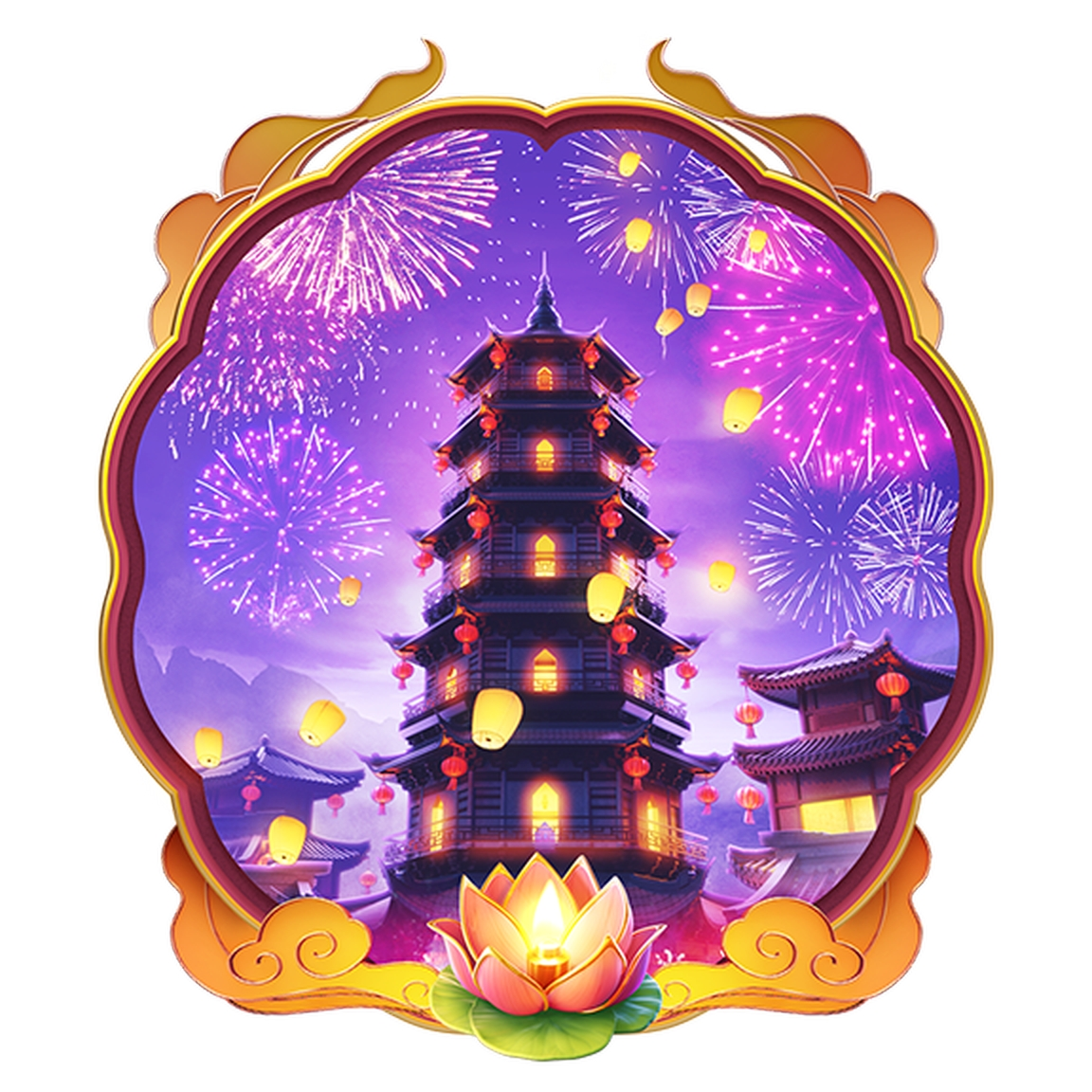 The Wild Fireworks Online Slot Demo Game by PG Soft
