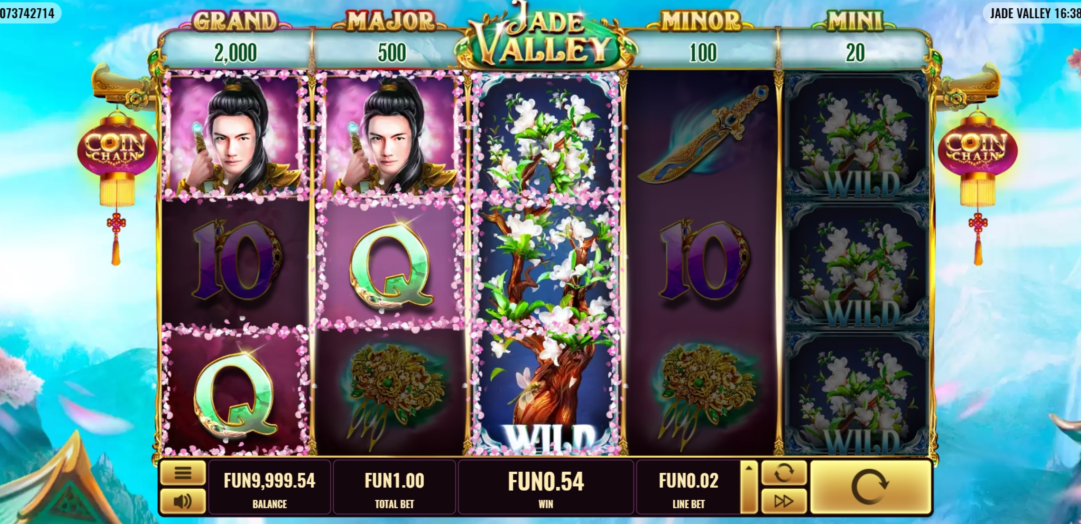 Win Money in Jade Valley Free Slot Game by Platipus