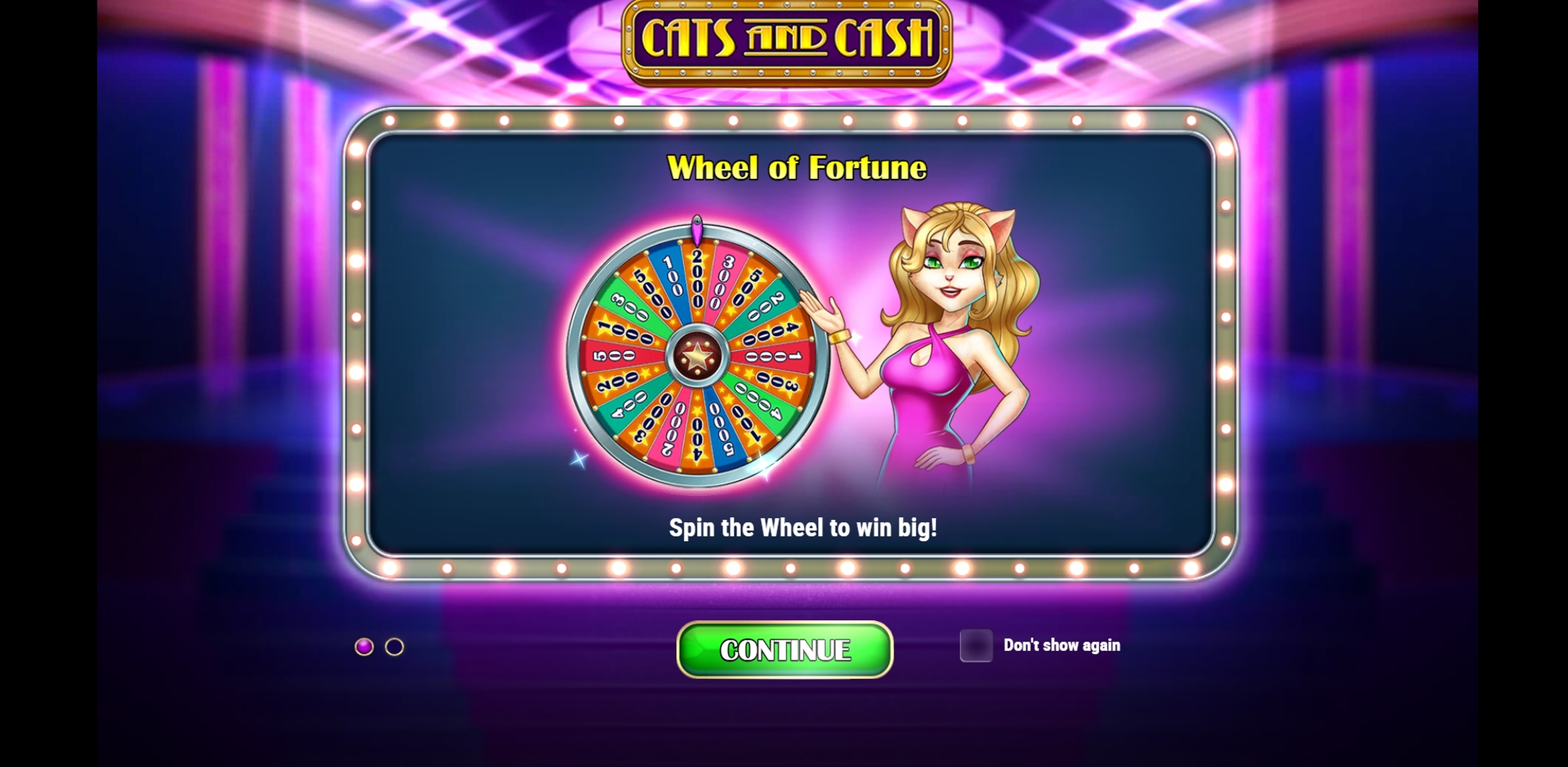 Play Cats and Cash Free Casino Slot Game by Playn GO