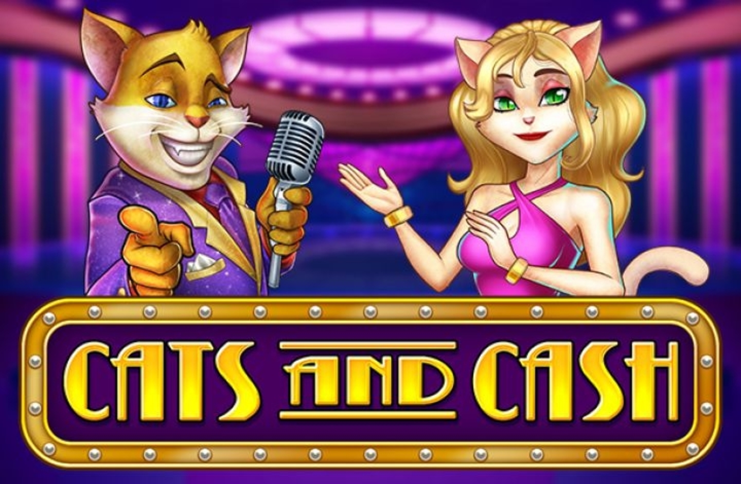 The Cats and Cash Online Slot Demo Game by Playn GO