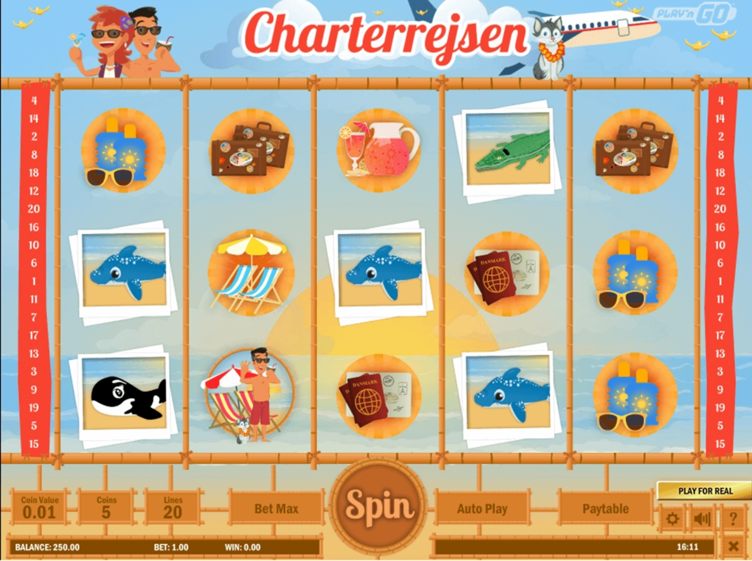 The Charterrejsen Online Slot Demo Game by Play'n Go