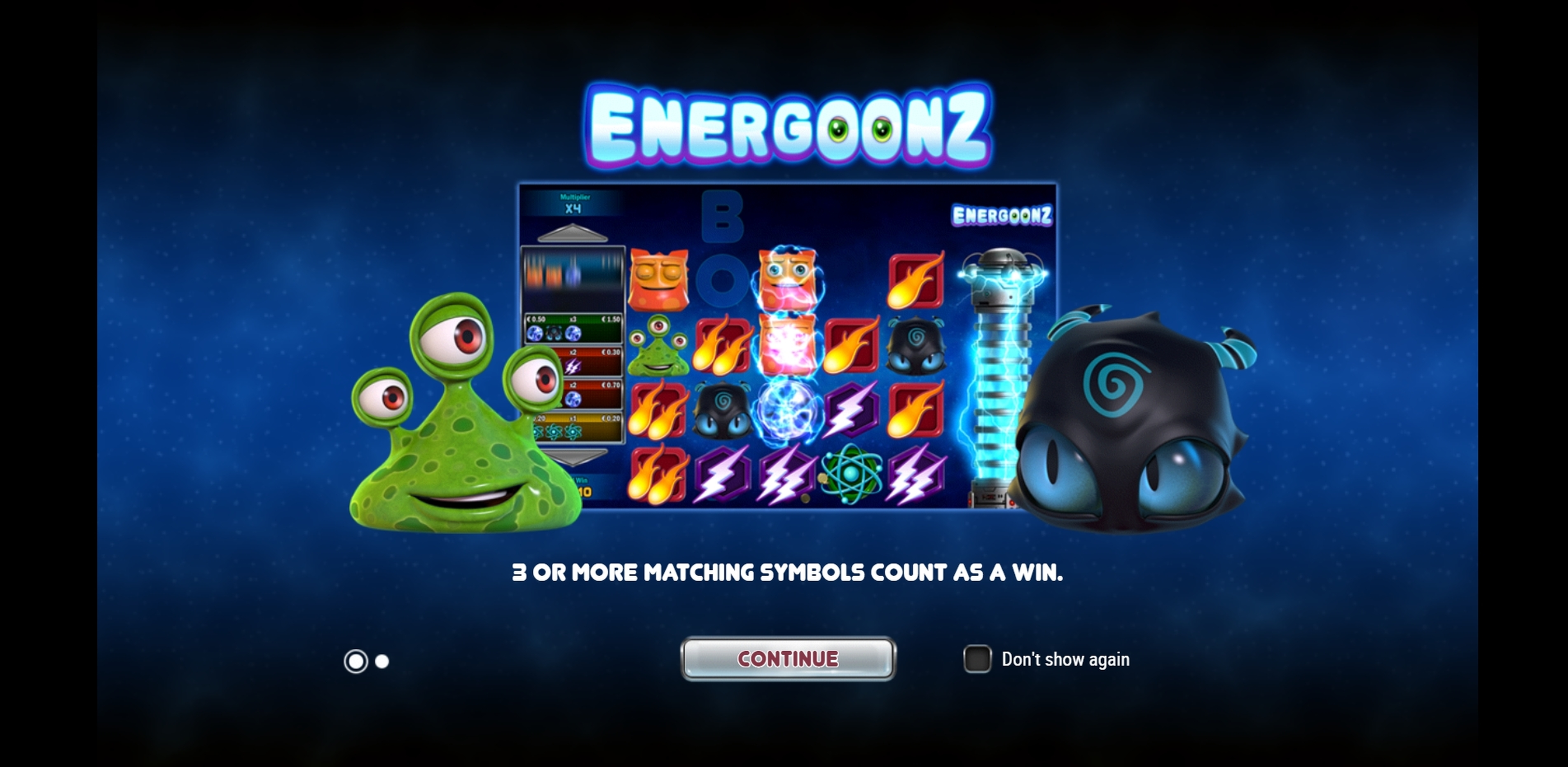 Play Energoonz Free Casino Slot Game by Play'n Go