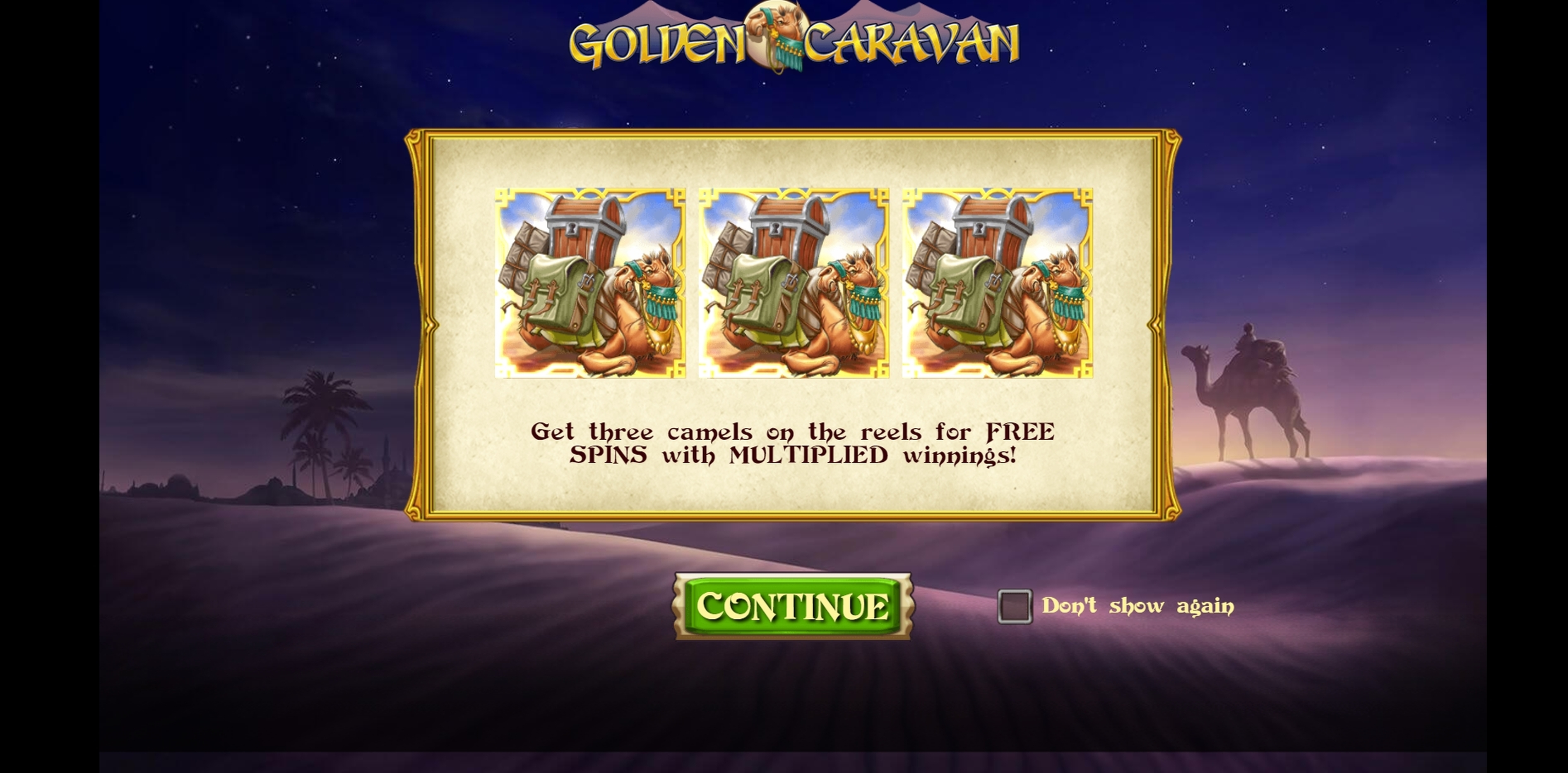 Play Golden Caravan Free Casino Slot Game by Play'n Go