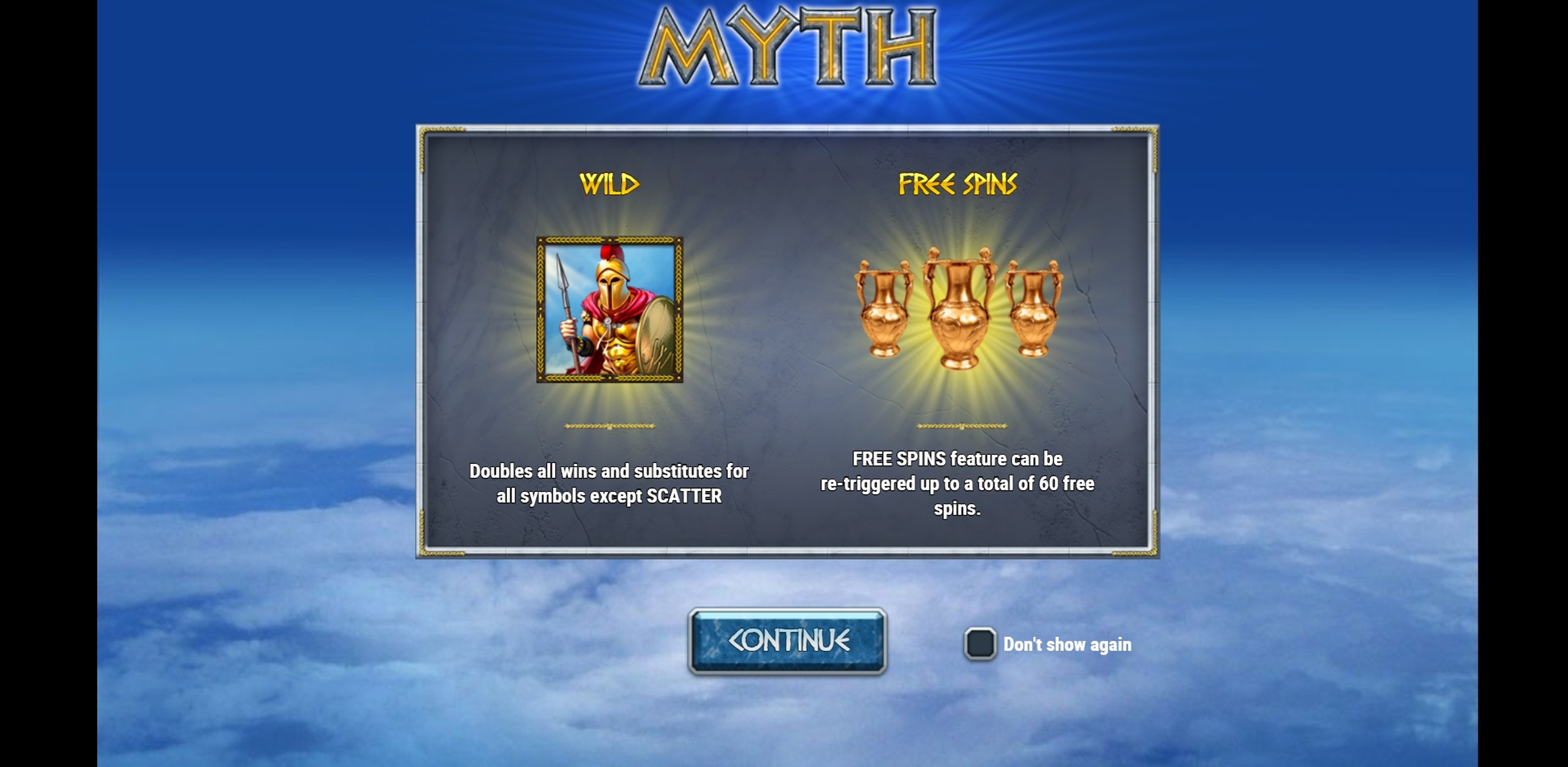 Play Myth Free Casino Slot Game by Play'n Go