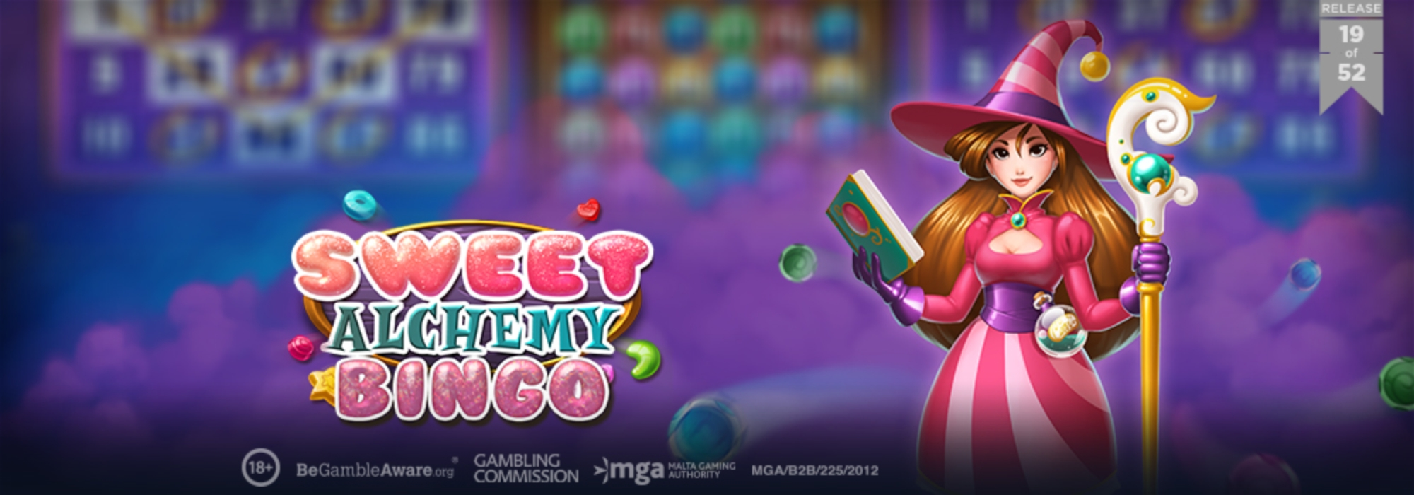 The Sweet Alchemy Bingo Online Slot Demo Game by Play'n Go