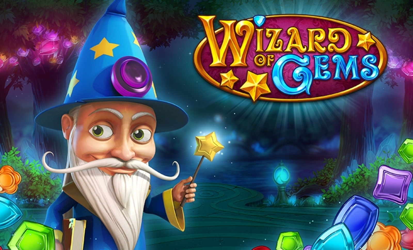 The Wizard of Gems Online Slot Demo Game by Playn GO