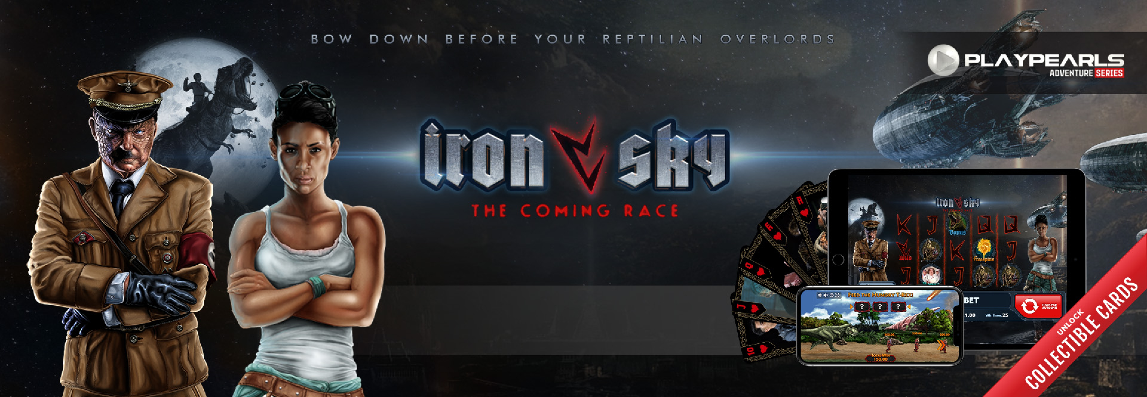 The Iron Sky Online Slot Demo Game by PlayPearls