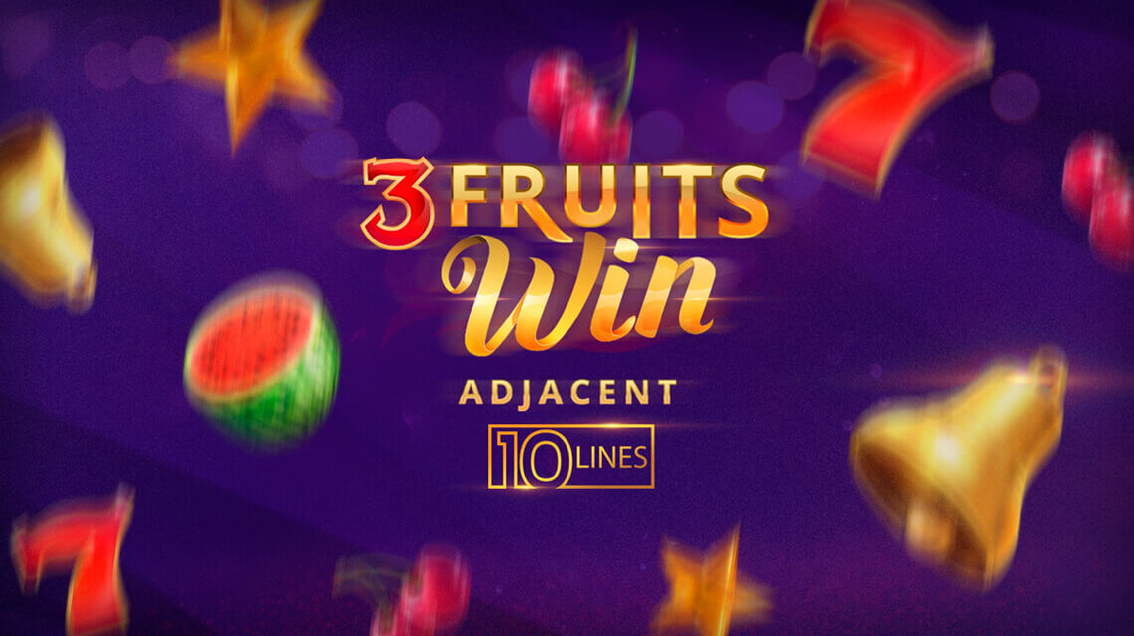 The 3 Fruits Win: 10 lines Online Slot Demo Game by Playson