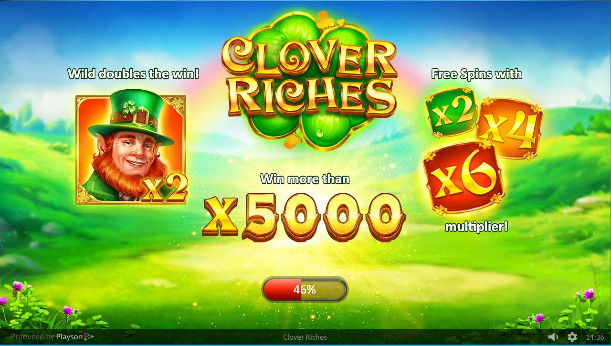 The Clover Riches Online Slot Demo Game by Playson