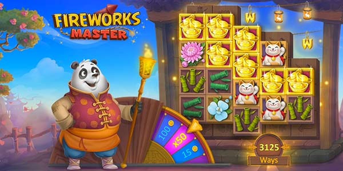 The Fireworks Master Online Slot Demo Game by Playson