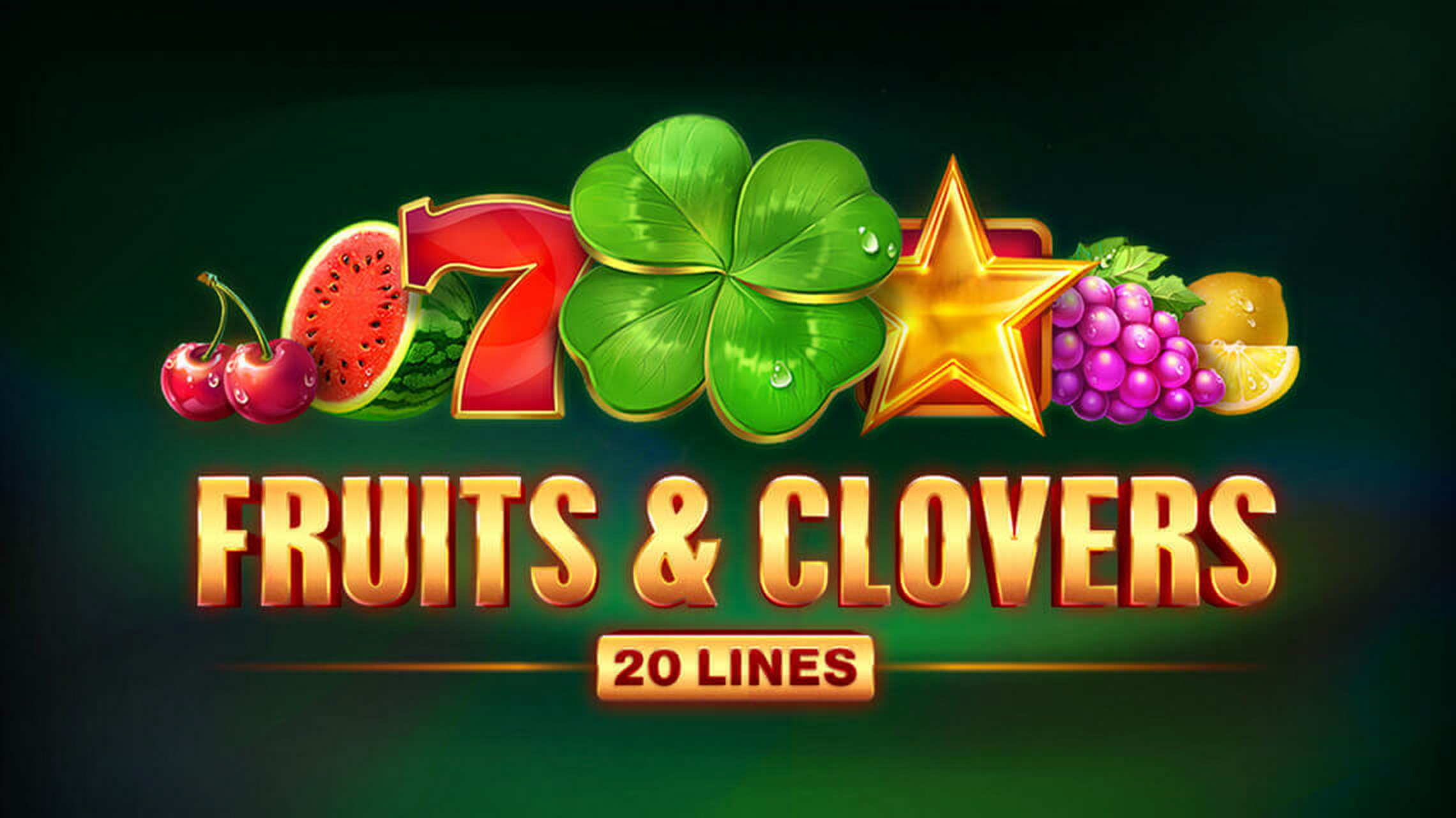 The Fruits & Clovers 20 lines Online Slot Demo Game by Playson