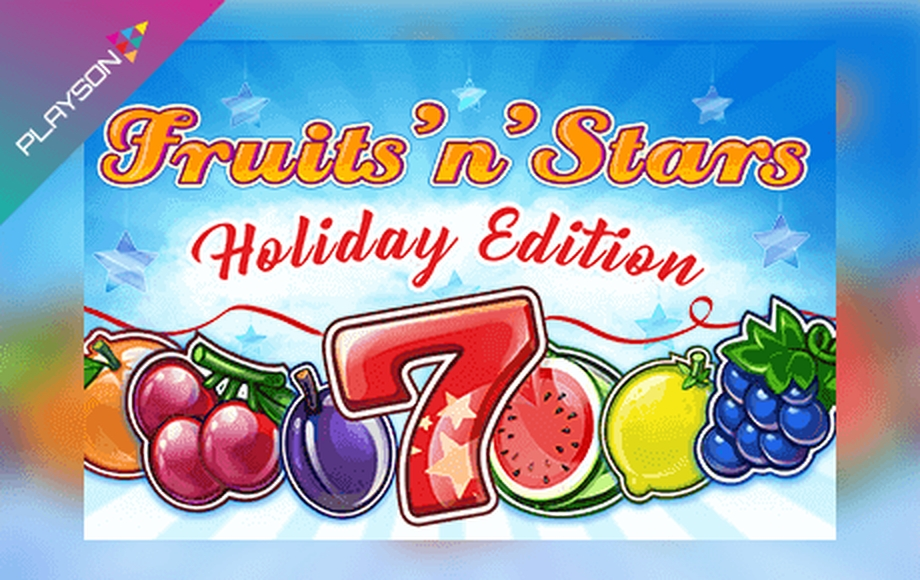 The Fruits'N'Stars: Holiday Edition Online Slot Demo Game by Playson
