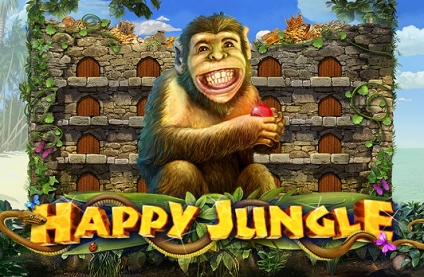 The Happy Jungle Online Slot Demo Game by Playson