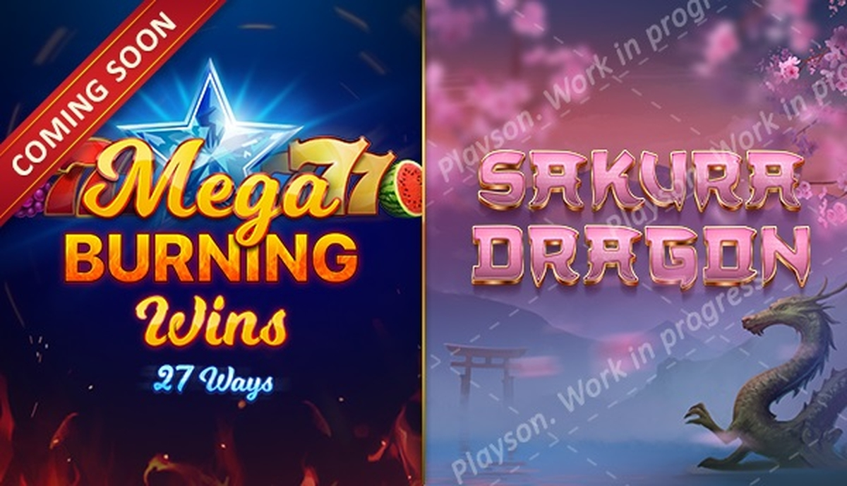 The Mega Burning Wins 27 ways Online Slot Demo Game by Playson