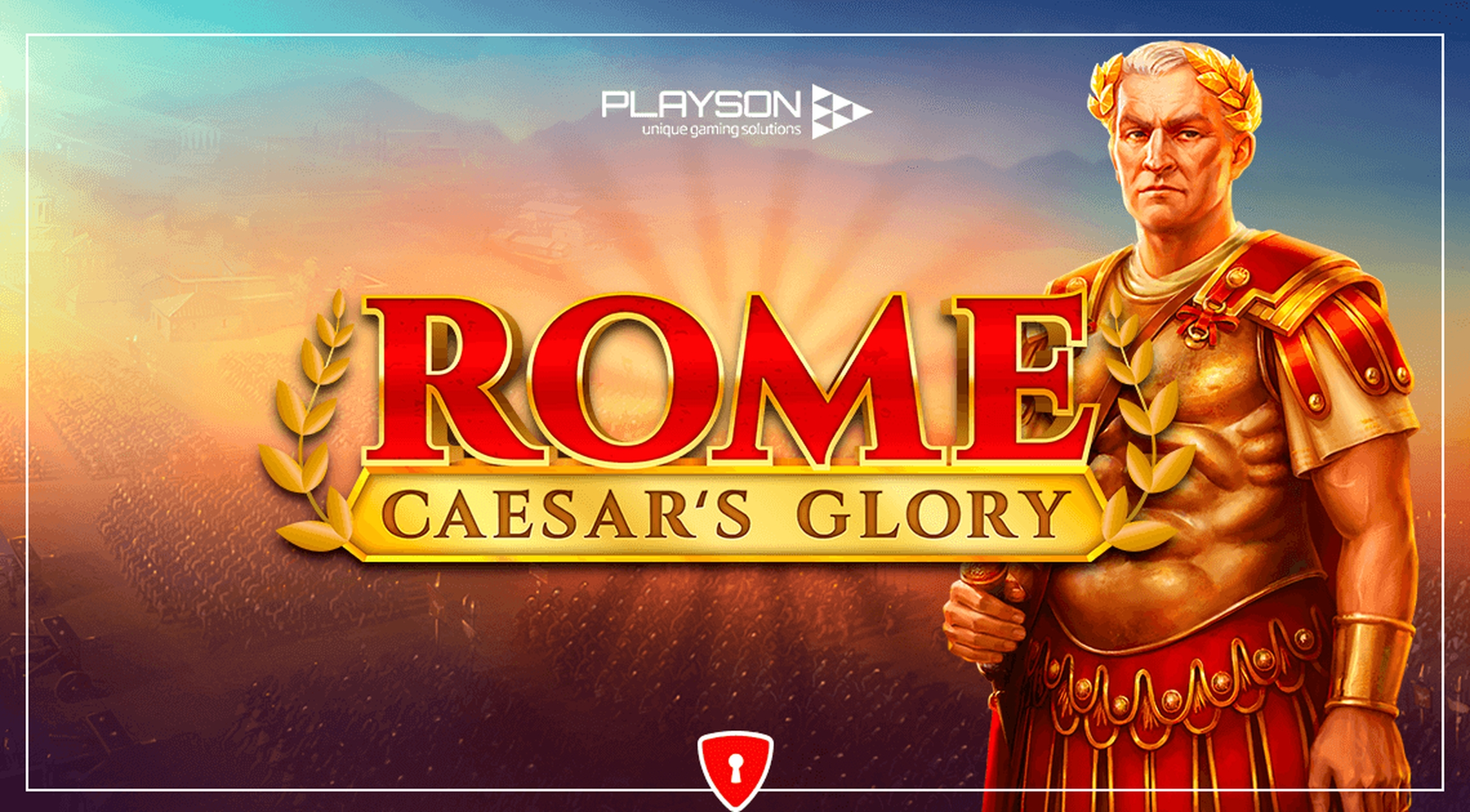 The Rome: Caesars Glory Online Slot Demo Game by Playson