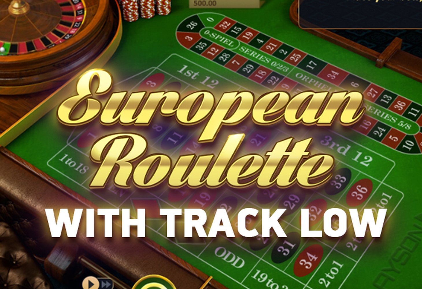 The Roulette with Track low Online Slot Demo Game by Playson
