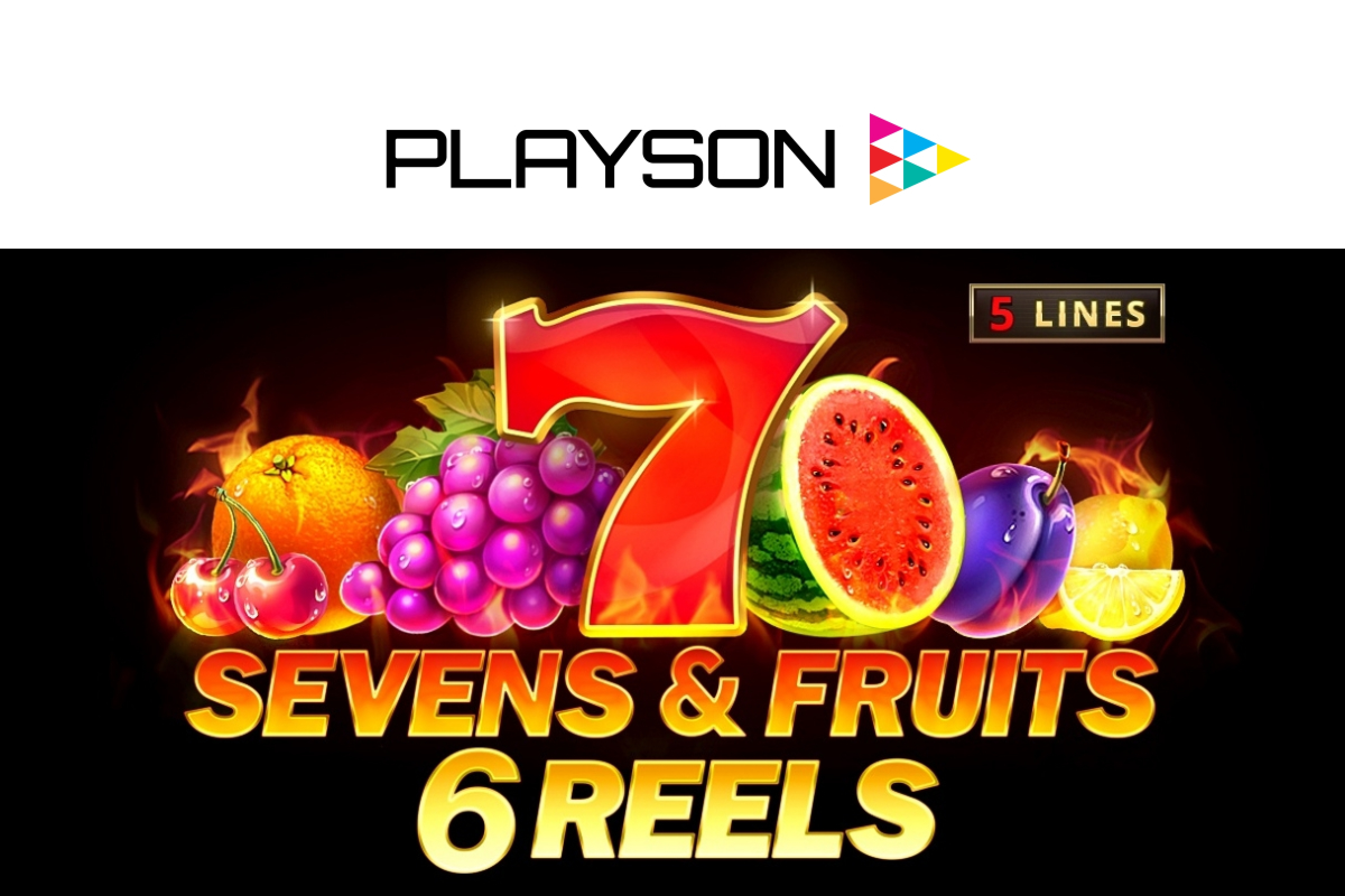 The Sevens & Fruits: 20 lines Online Slot Demo Game by Playson