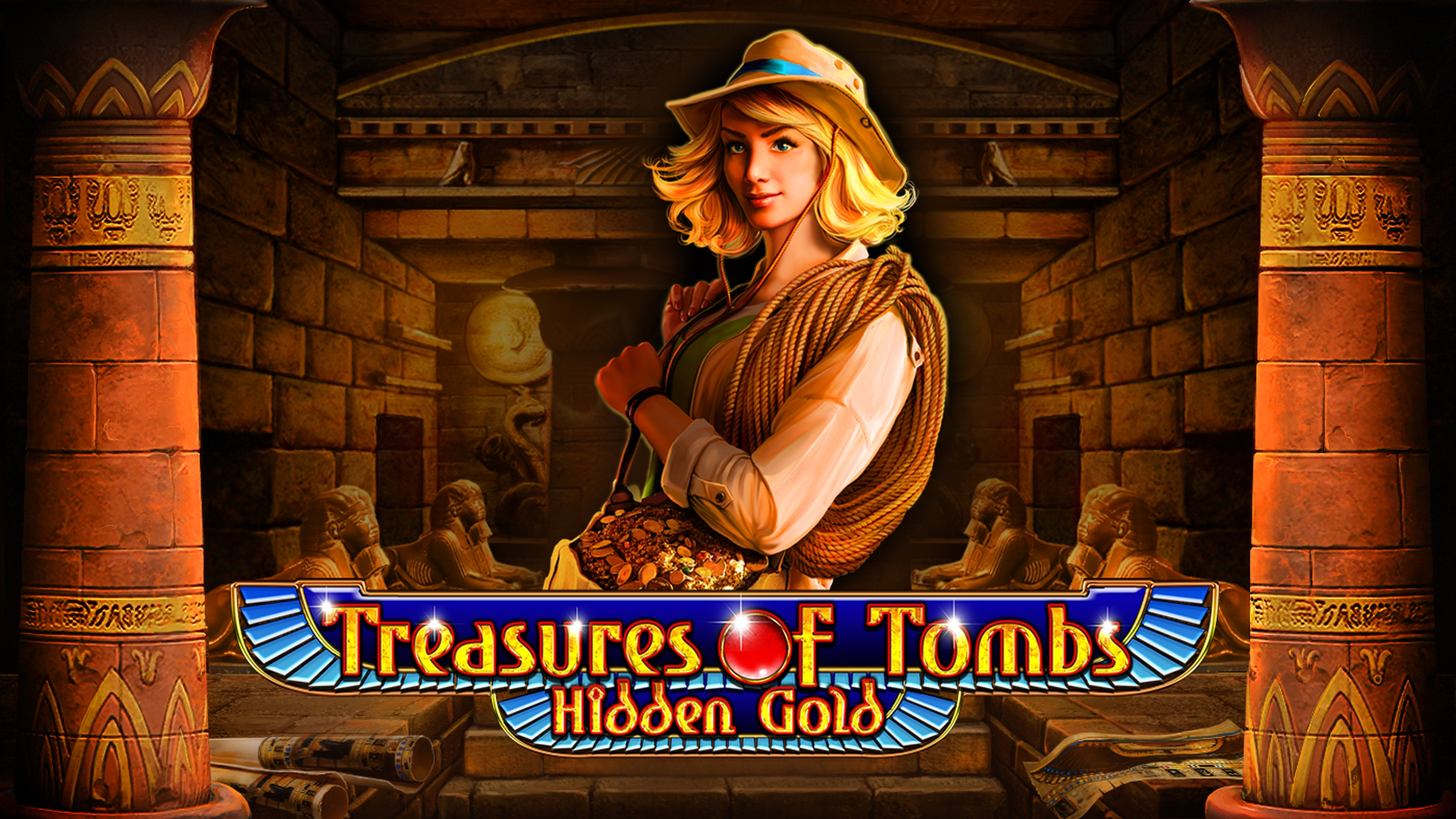 The Treasures of Tombs Hidden Gold Online Slot Demo Game by Playson