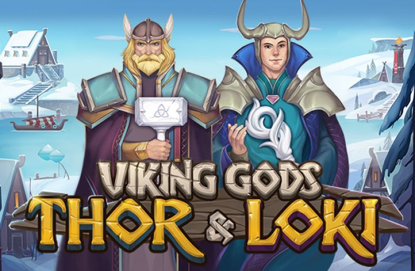 The Viking Gods Thor and Loki Online Slot Demo Game by Playson