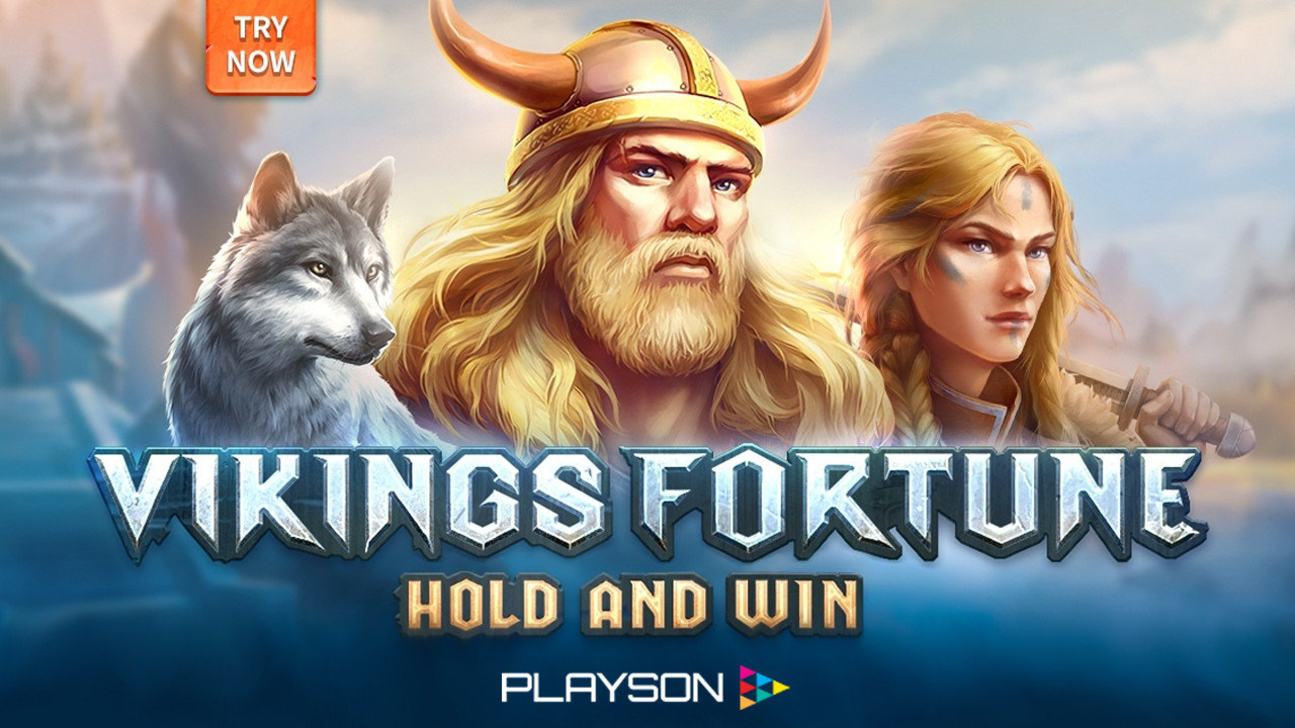 The Vikings Fortune: Hold and Win Online Slot Demo Game by Playson