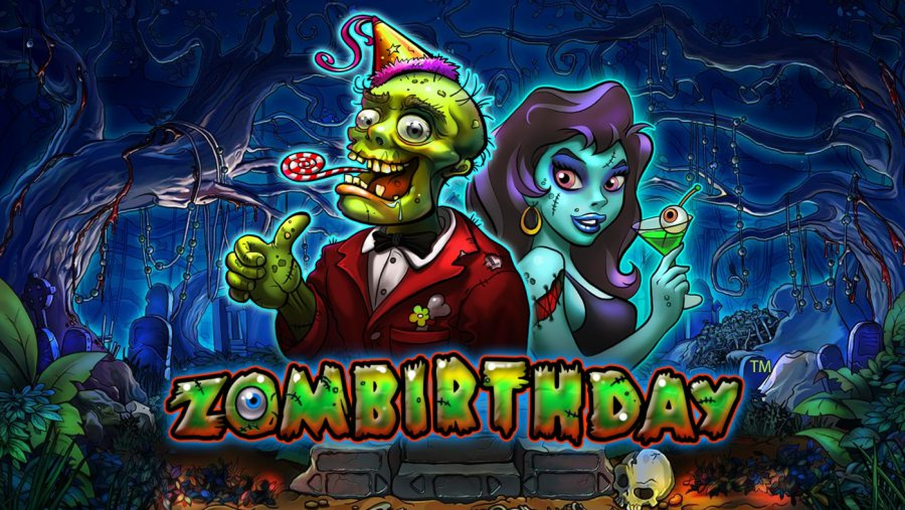 The Zombirthday Online Slot Demo Game by Playson