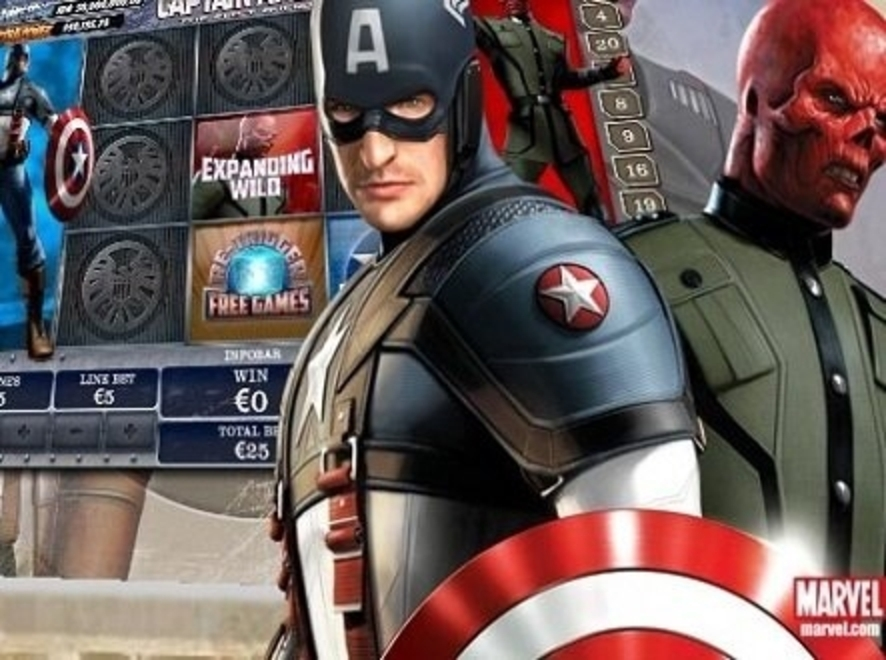 The Captain America Online Slot Demo Game by Playtech