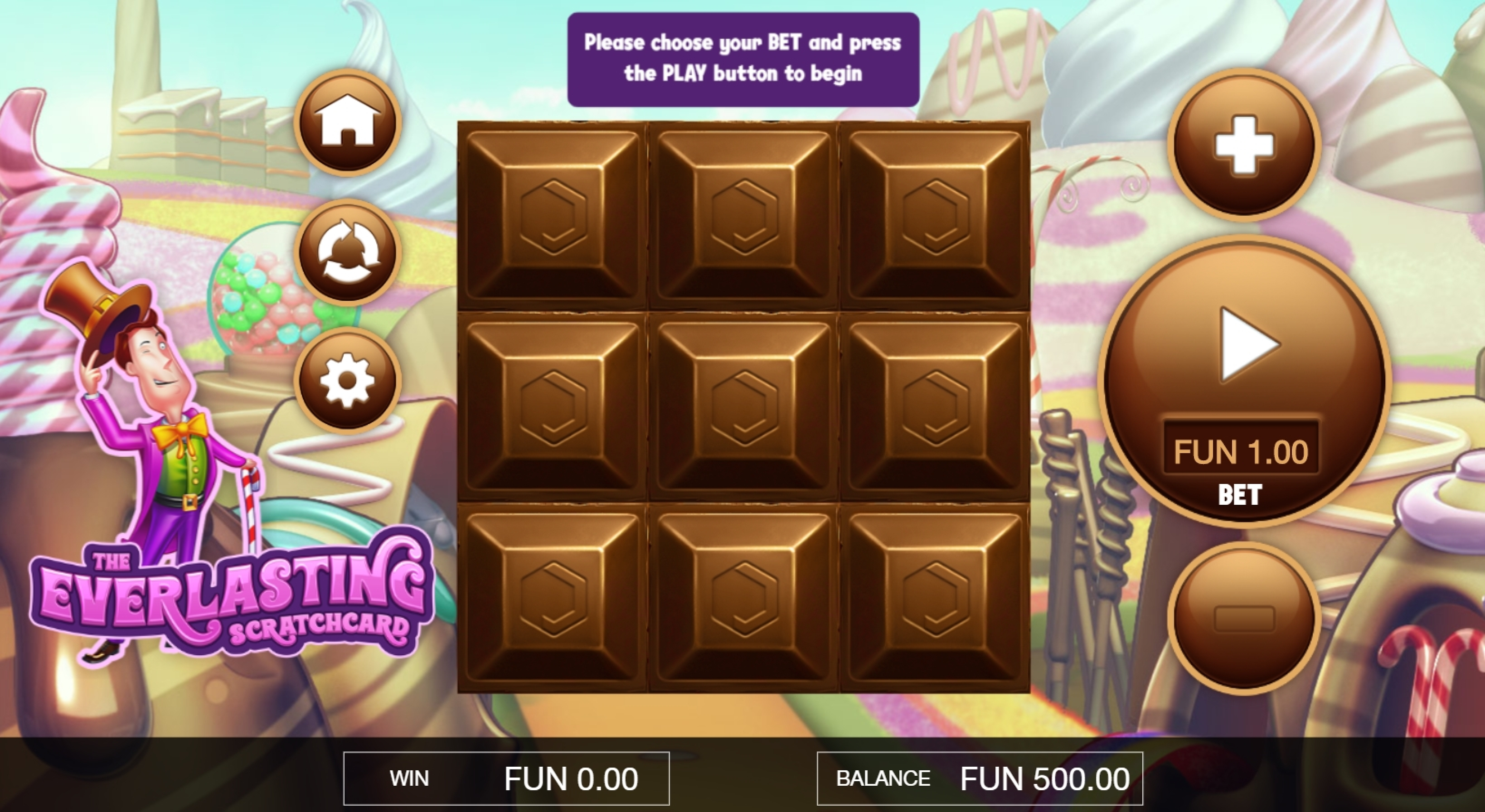 Reels in The Everlasting Scratchcard Slot Game by Probability Jones
