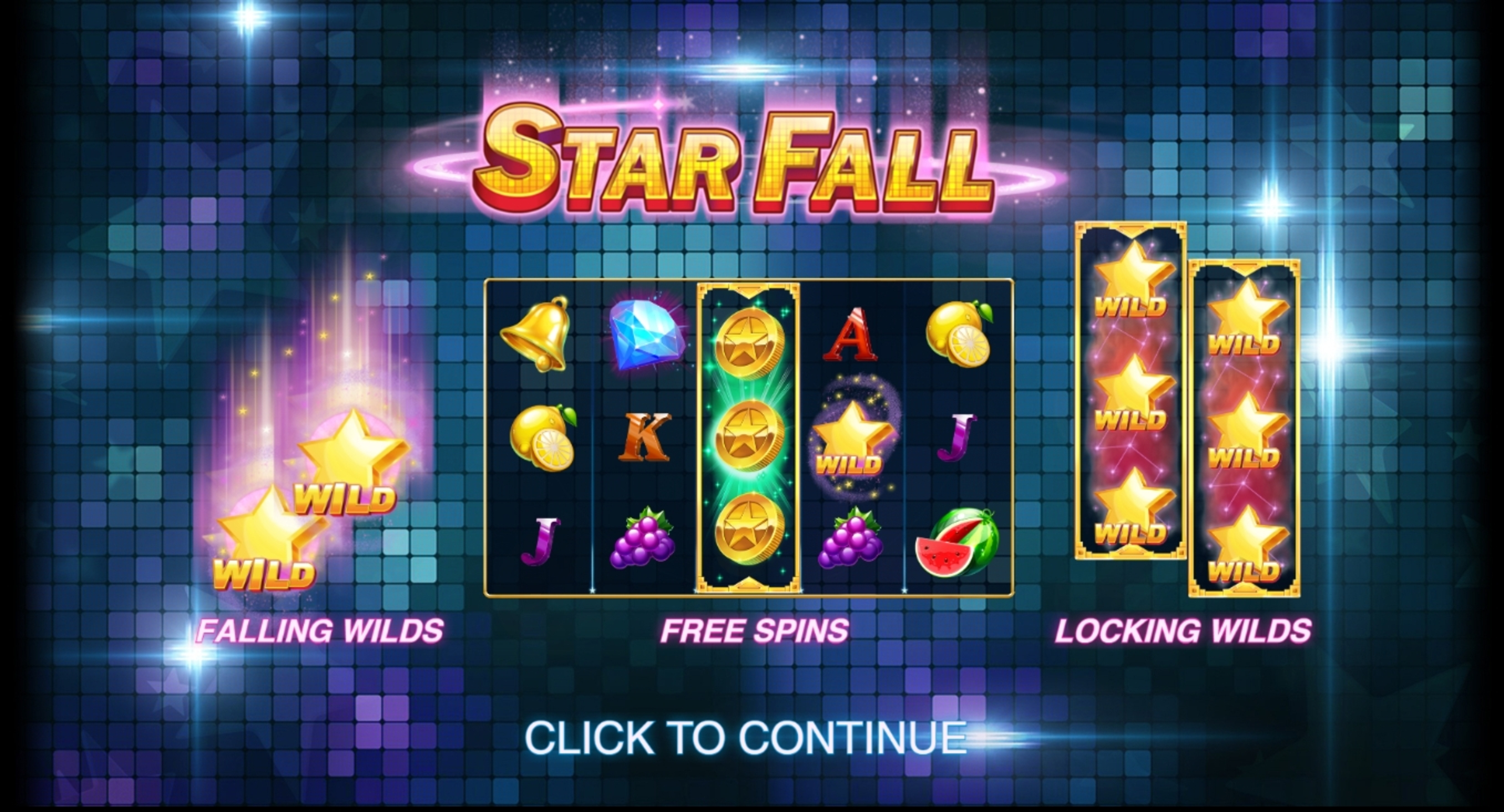Play Star Fall Free Casino Slot Game by Push Gaming
