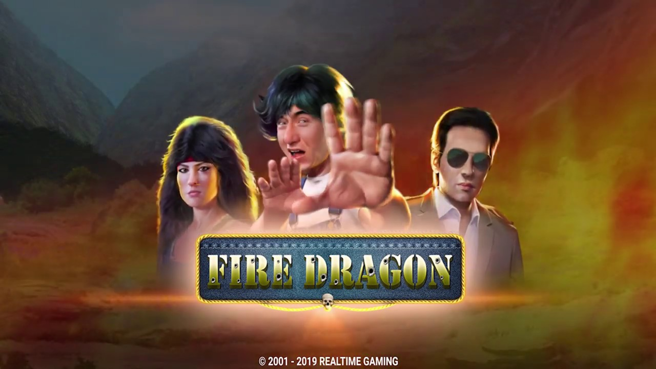 The Fire Dragon Online Slot Demo Game by Real Time Gaming