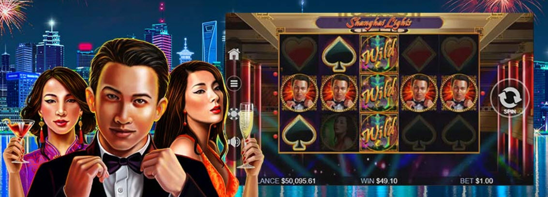 The Shanghai Lights Online Slot Demo Game by Real Time Gaming