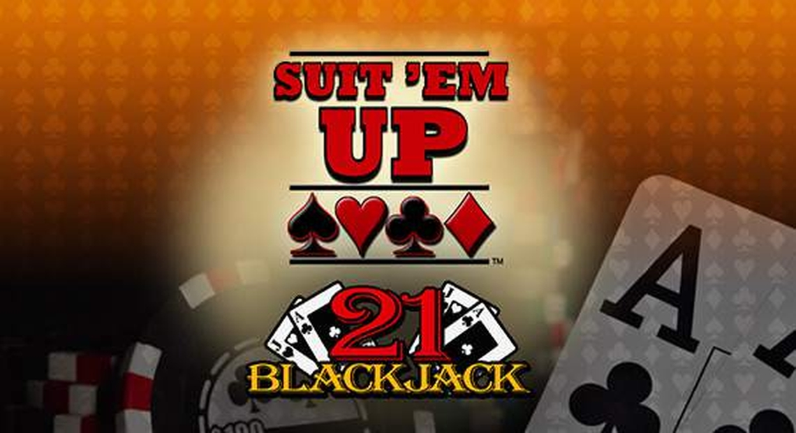 The Suit'Em Up Blackjack Online Slot Demo Game by Real Time Gaming