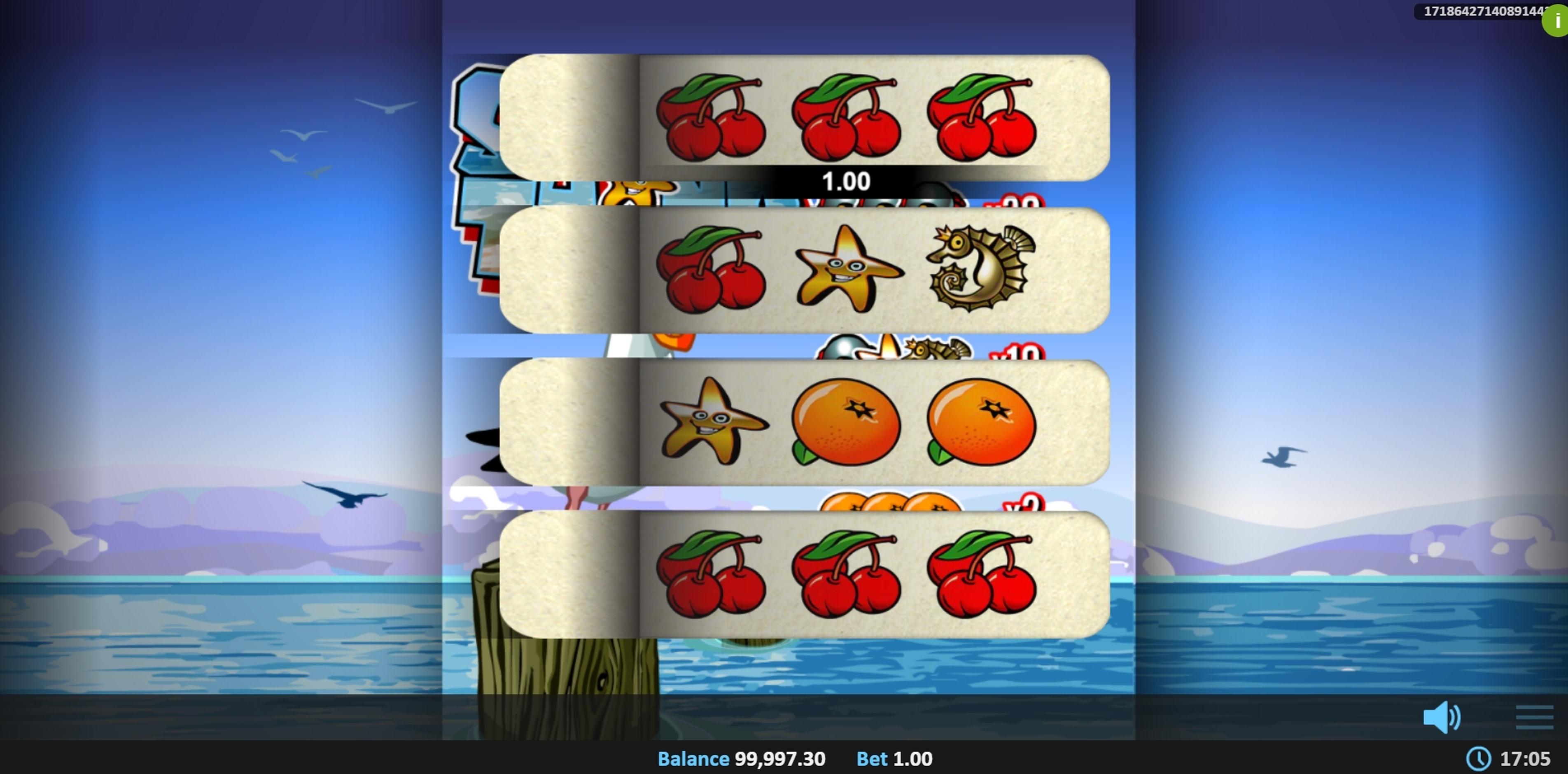 Win Money in Shore Thing Pull Tab Free Slot Game by Realistic Games
